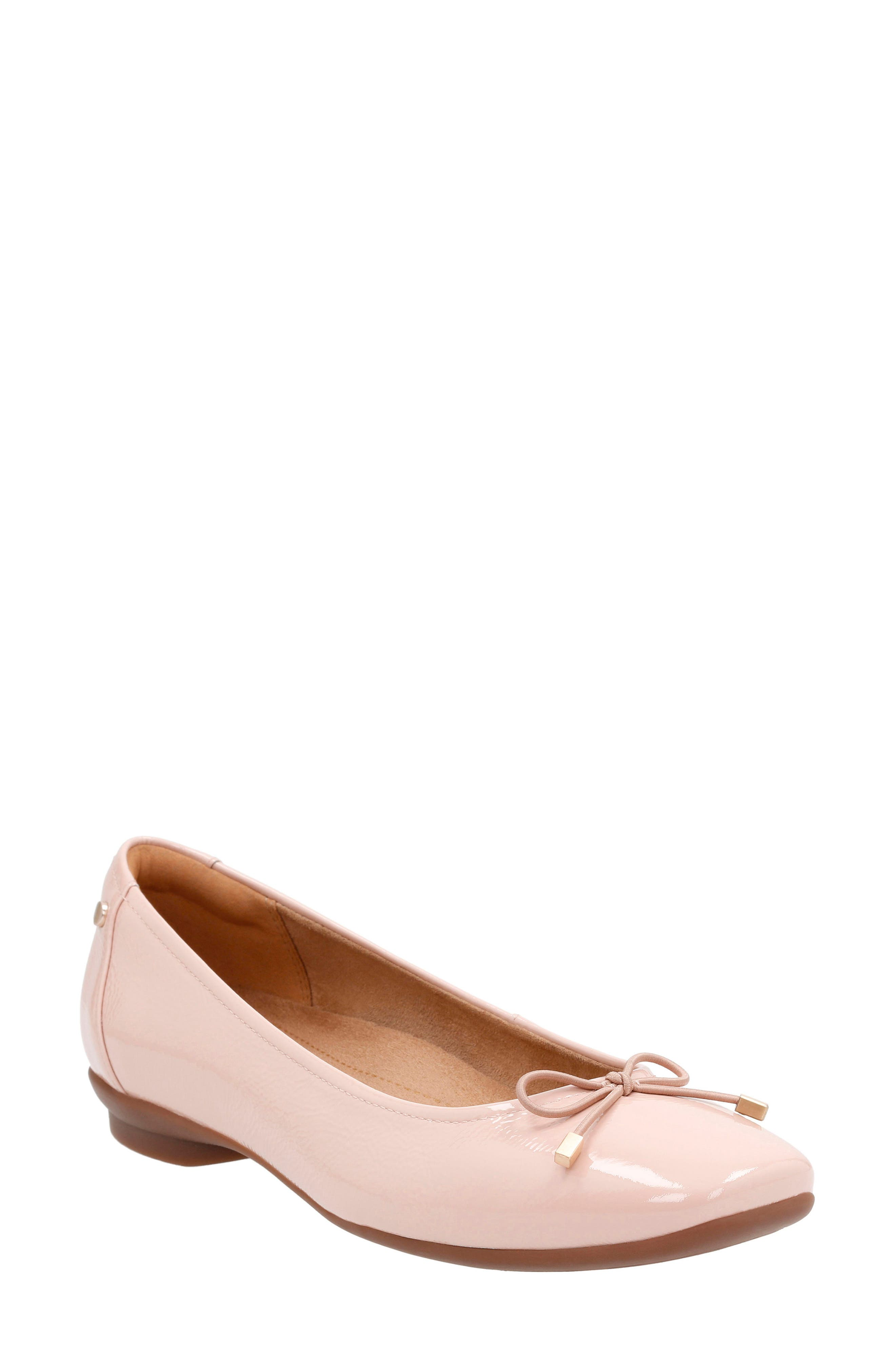 Clarks® 'Candra Light' Flat (Women)