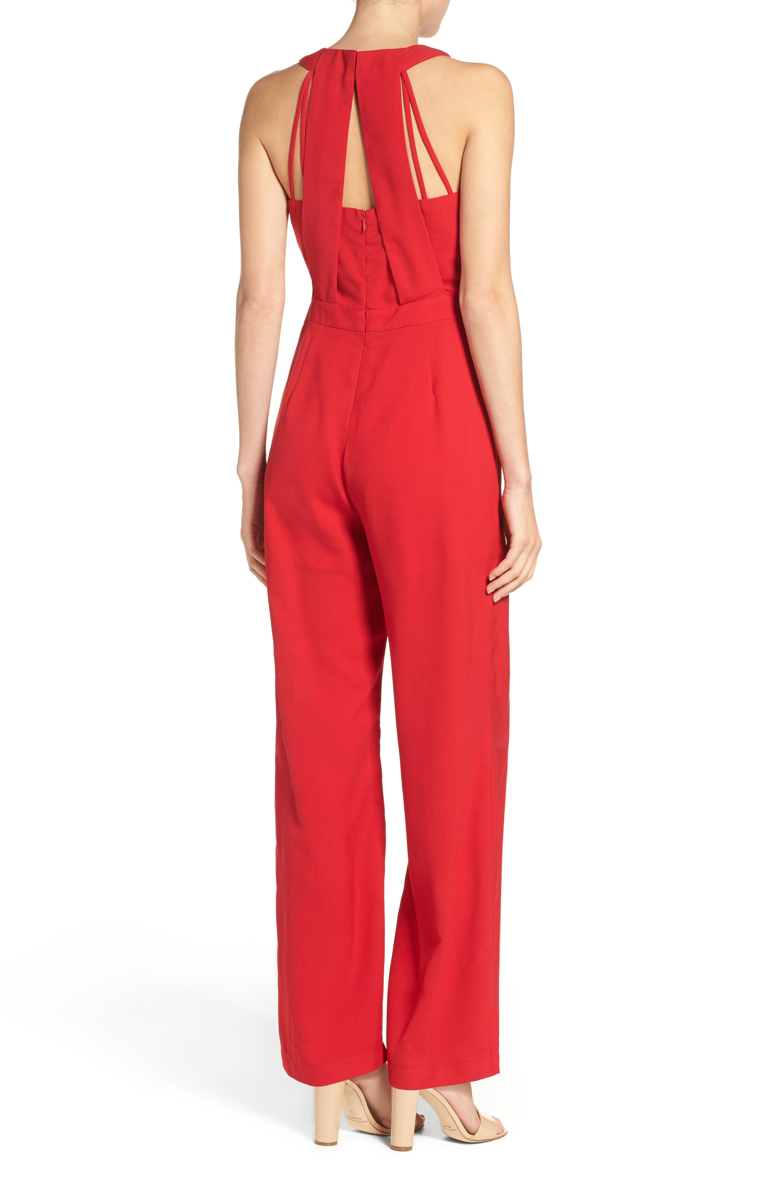 Alternate Image 2  - Adelyn Rae Wide Leg Jumpsuit