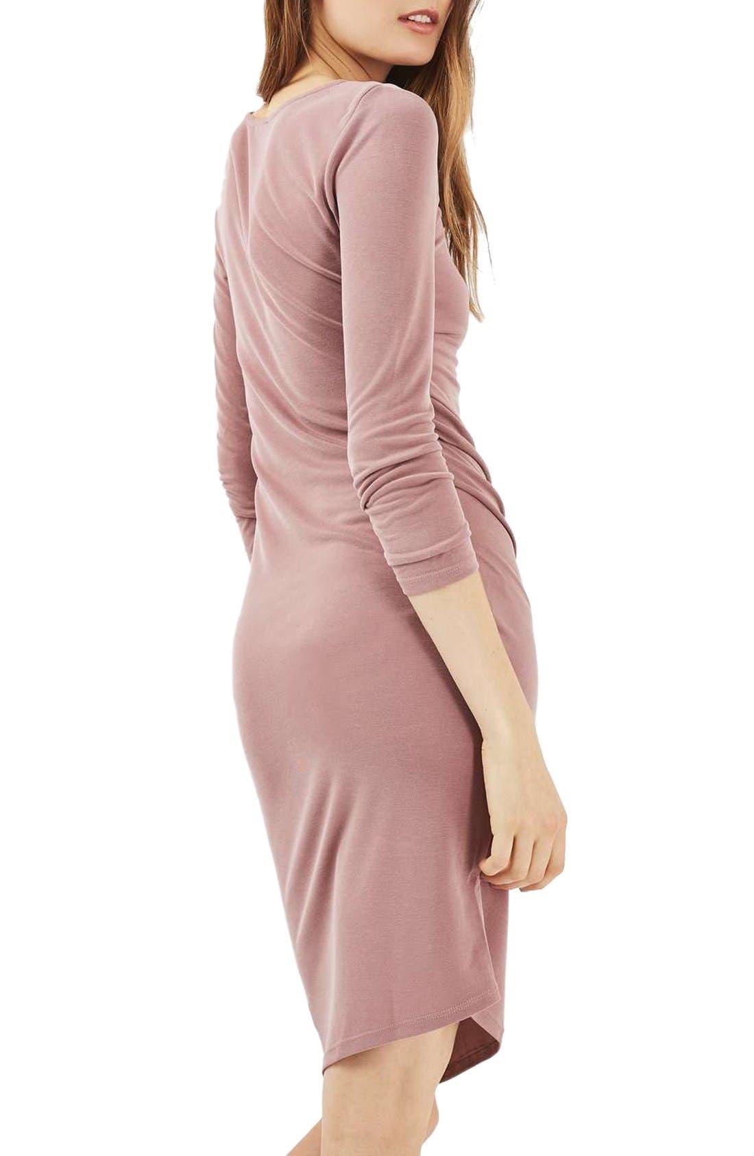 Alternate Image 3  - Topshop Drape Midi Dress