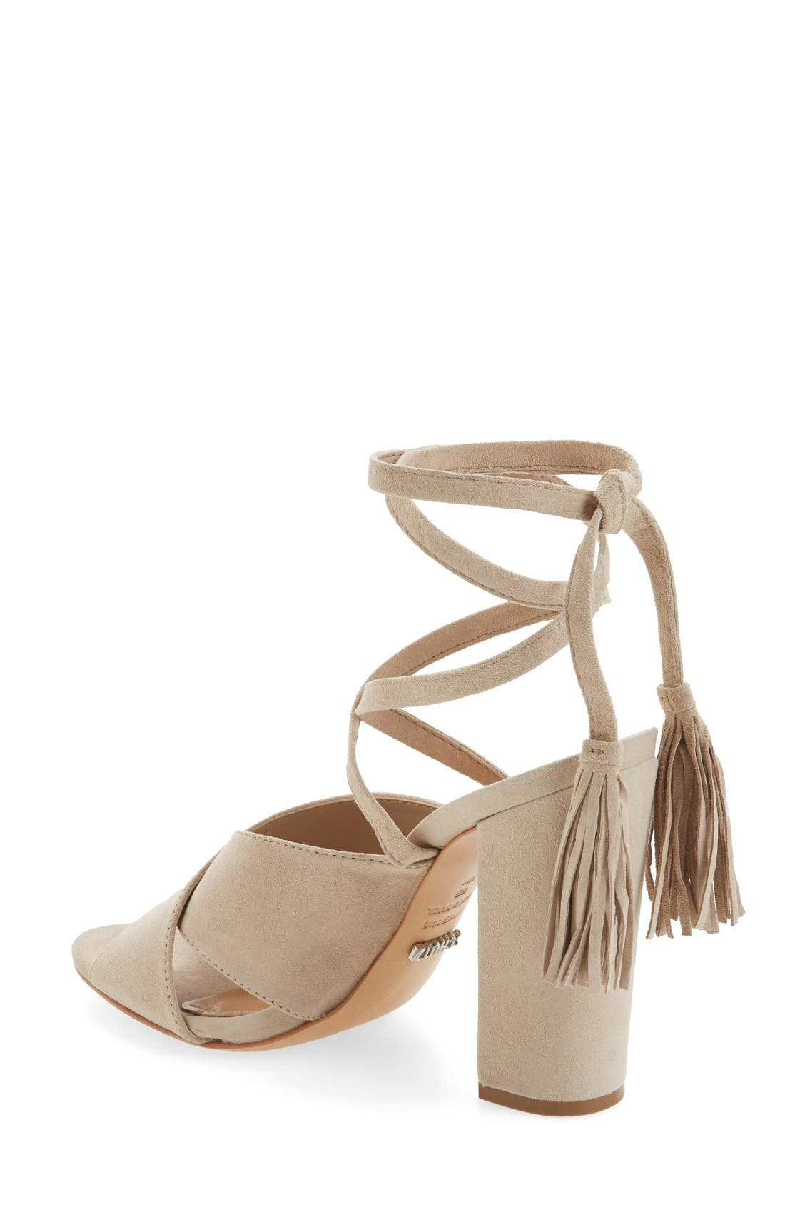 Alternate Image 2  - Schutz Damila Wraparound Tassel Sandal (Women)