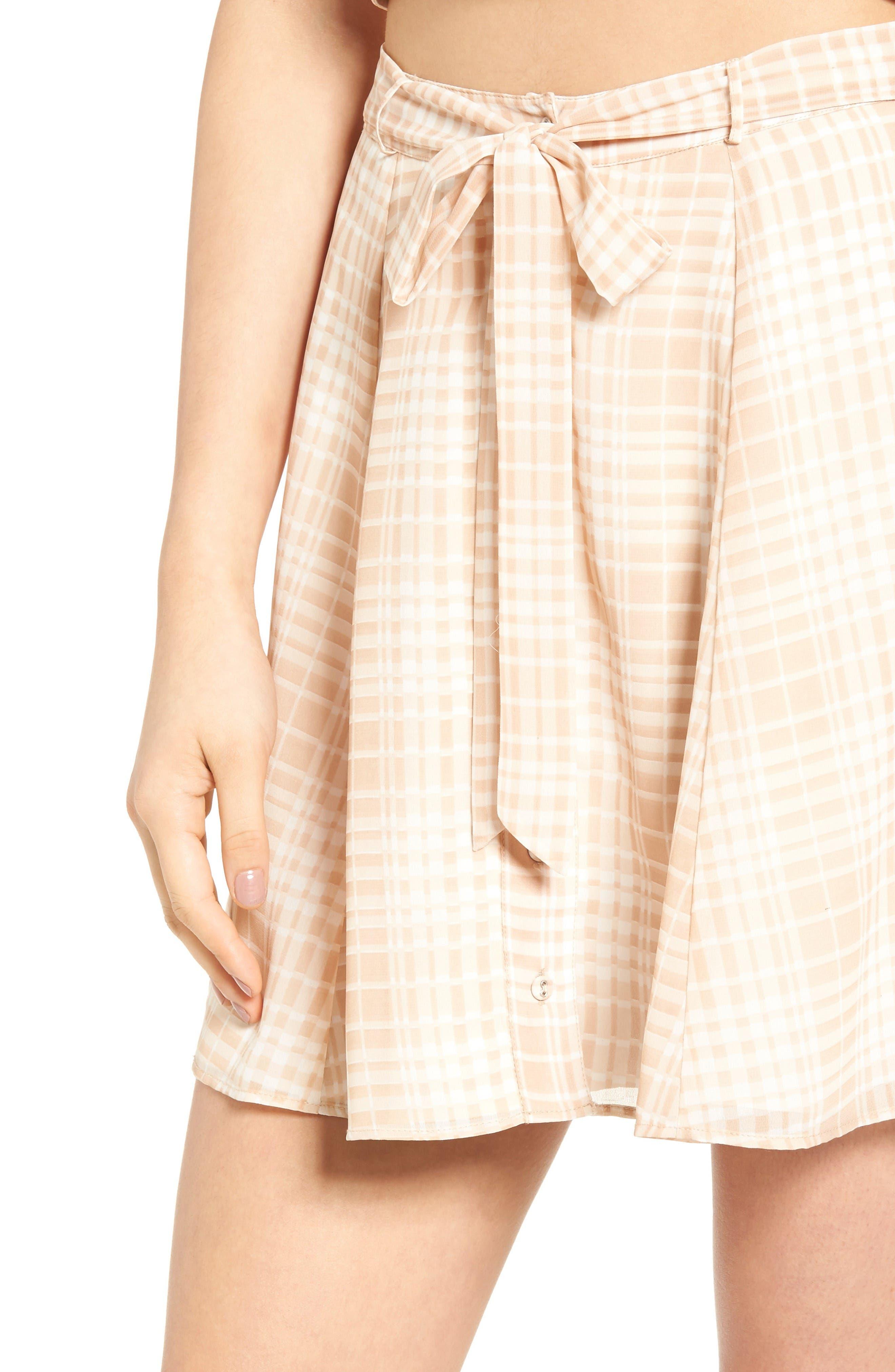 Dresden Skirt,                             Alternate thumbnail 5, color,                             Tan