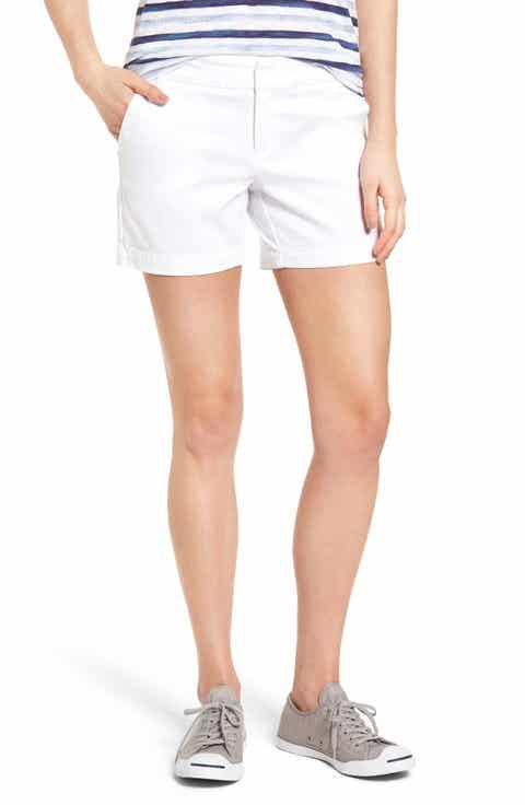 Caslon? Cotton Twill Shorts (Regular & Petite)