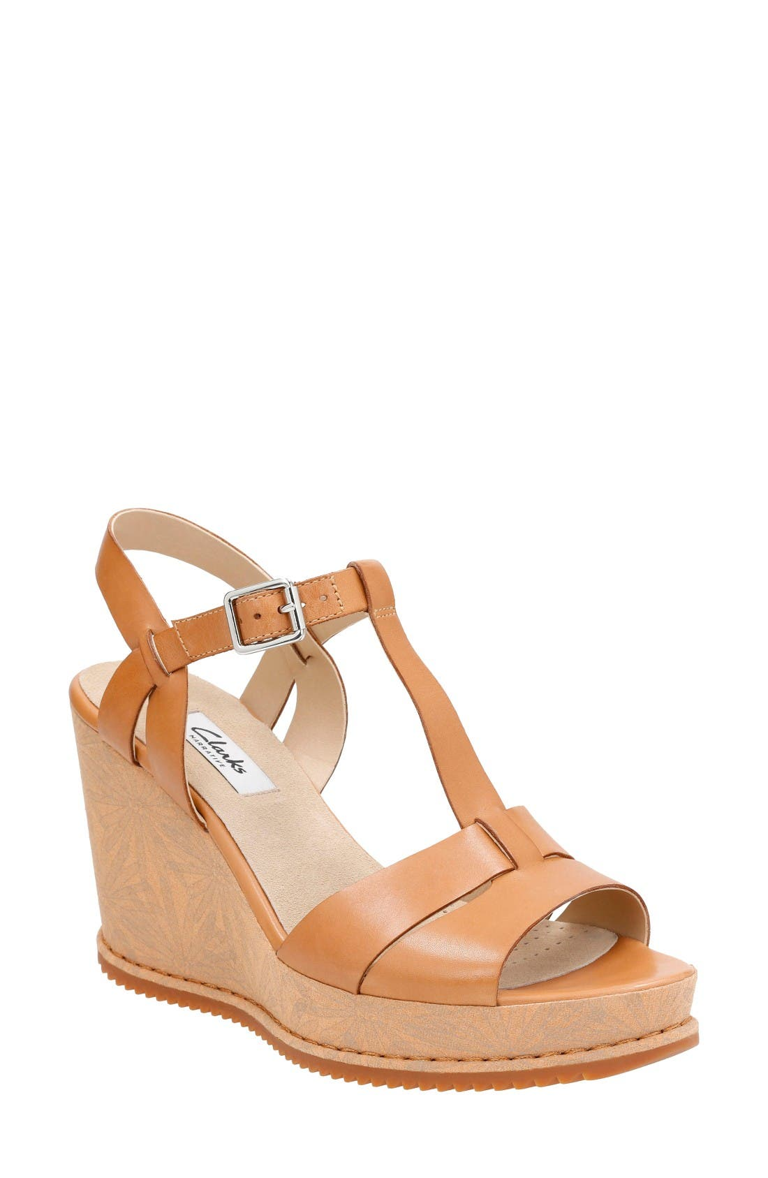Clarks® Adesha River Wedge Sandal (Women)