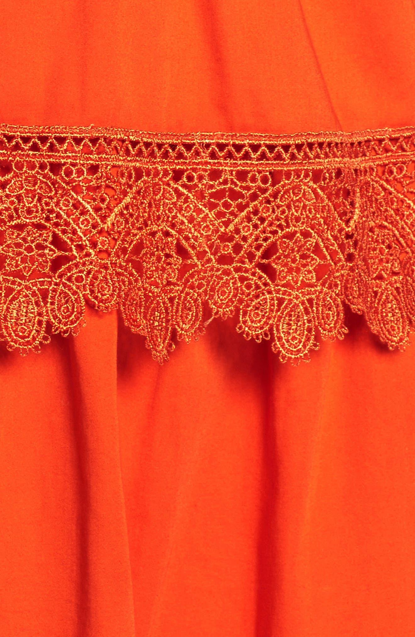 Alternate Image 7  - Bardot Sophia Peplum Dress