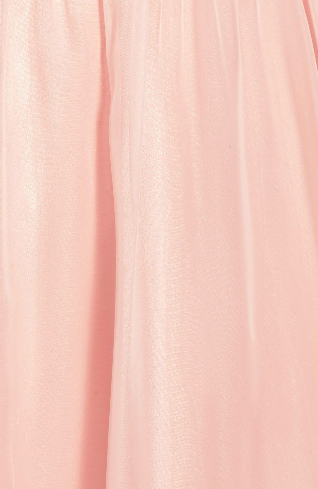Alternate Image 3  - Morgan & Co. Embellished Cutout Sweetheart Bodice Strapless Gown (Juniors)
