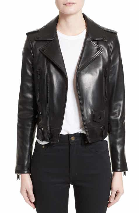 68c0f2200bd Women's Saint Laurent Coats & Jackets | Nordstrom