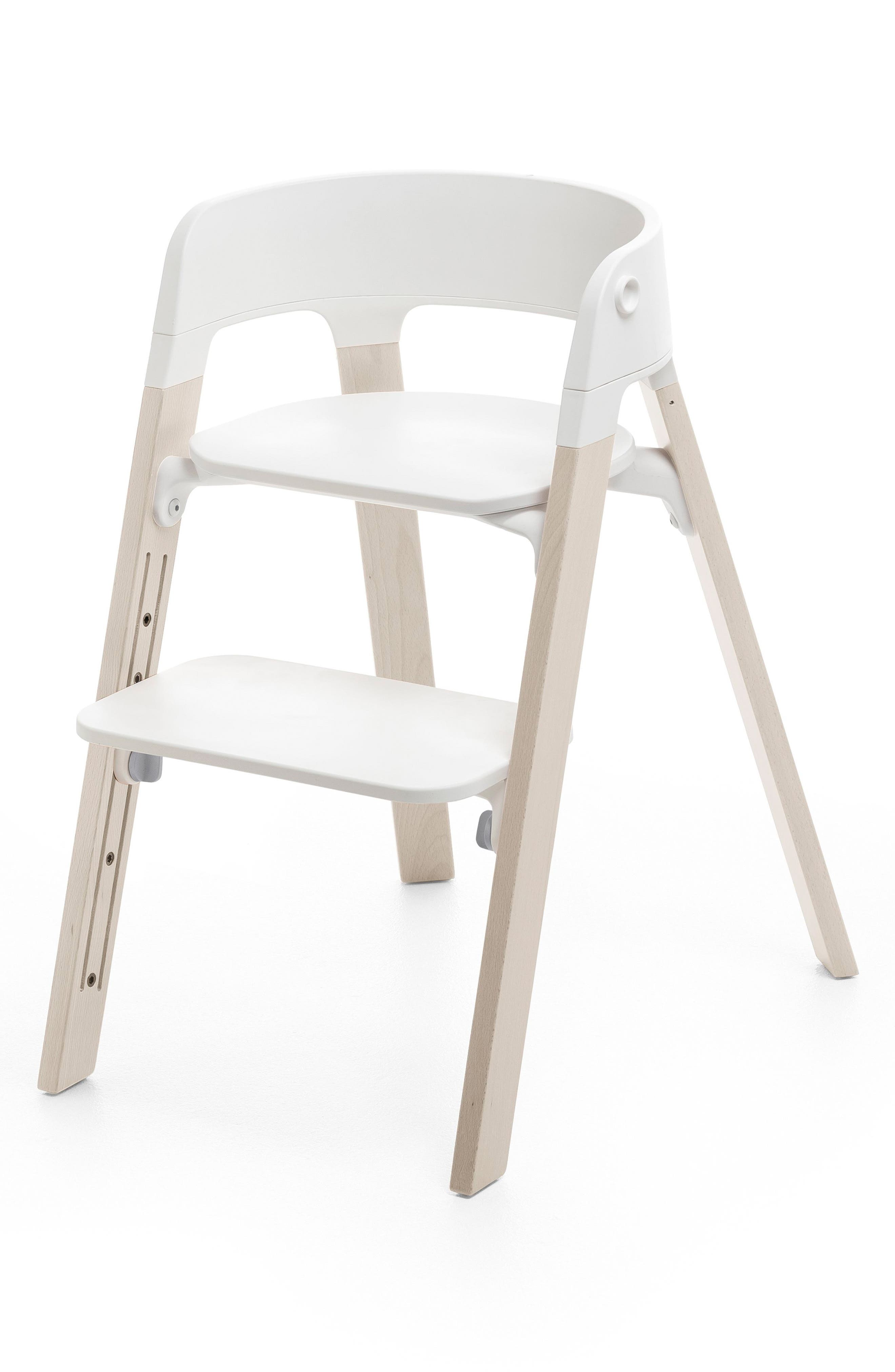 Steps<sup>™</sup> Chair Legs,                         Main,                         color, White Wash