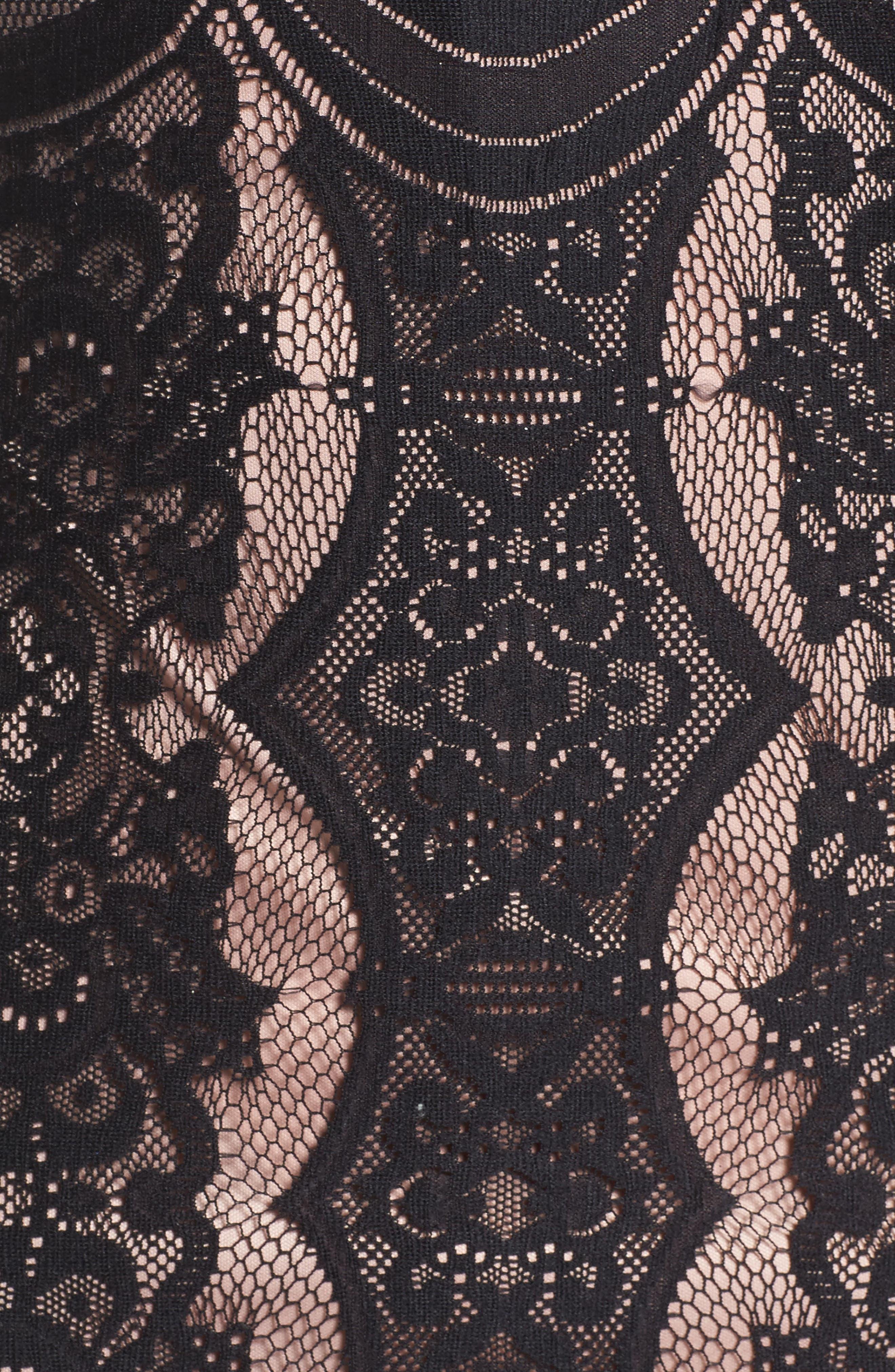 Alternate Image 5  - Morgan & Co. Lace Column Gown