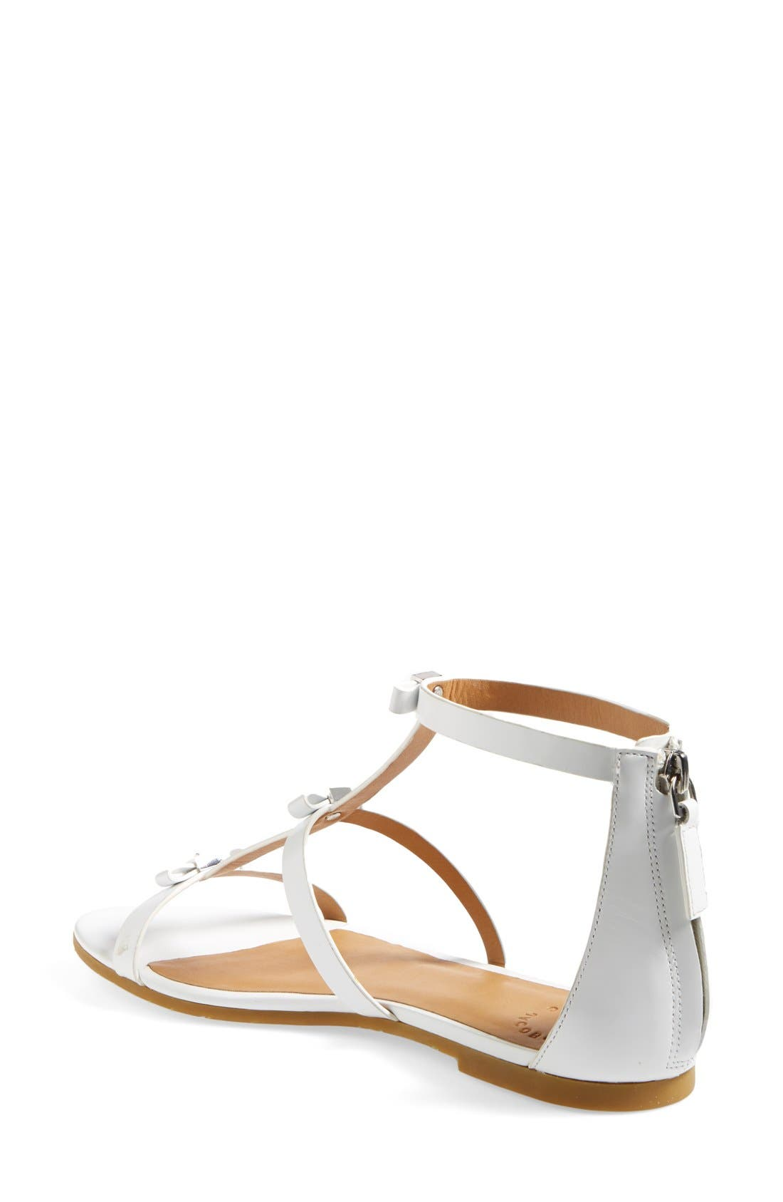 Alternate Image 2  - MARC BY MARC JACOBS Cube Bow Leather Sandal (Women)