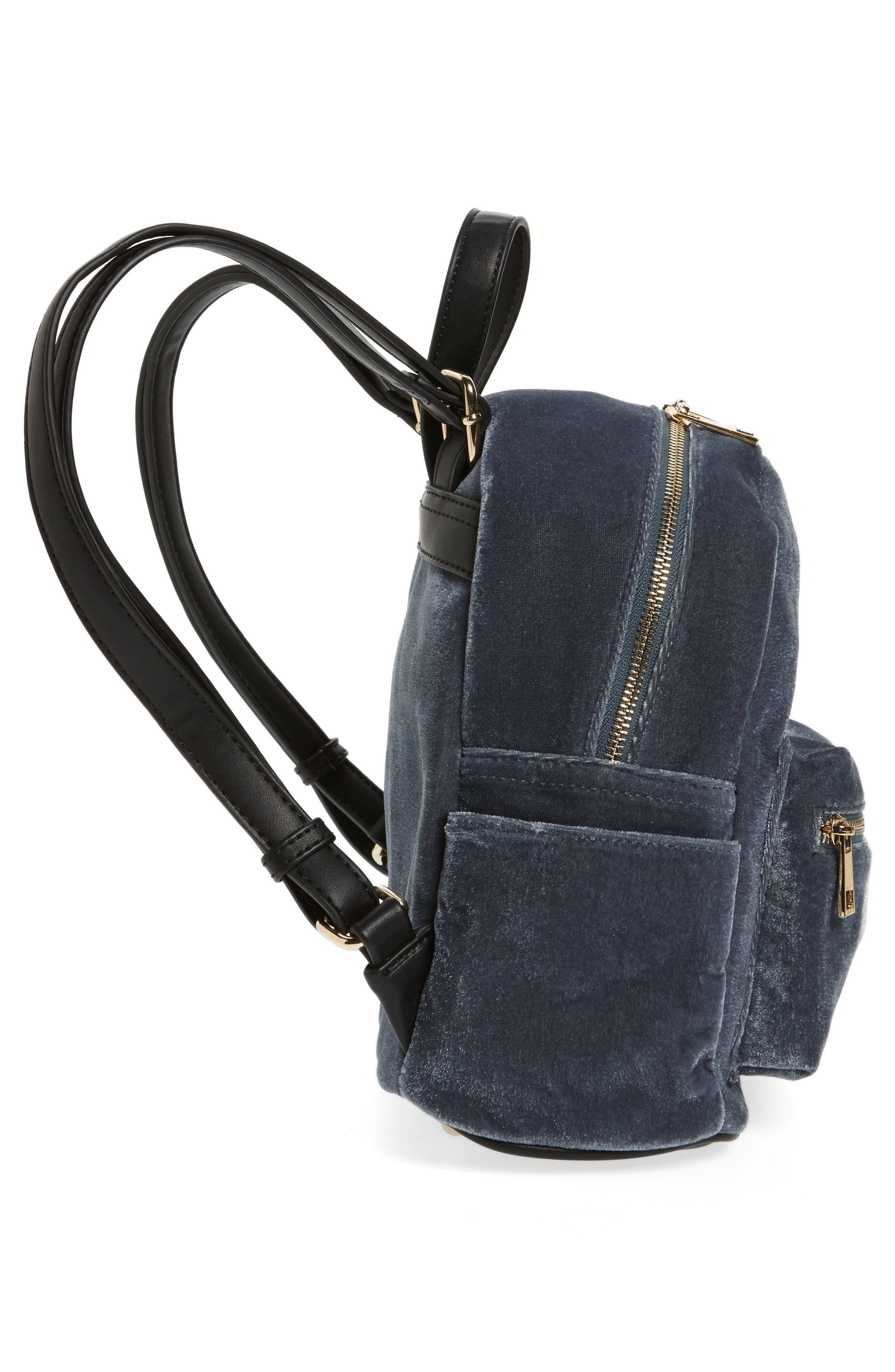 Alternate Image 5  - BP. Mini Velvet Backpack