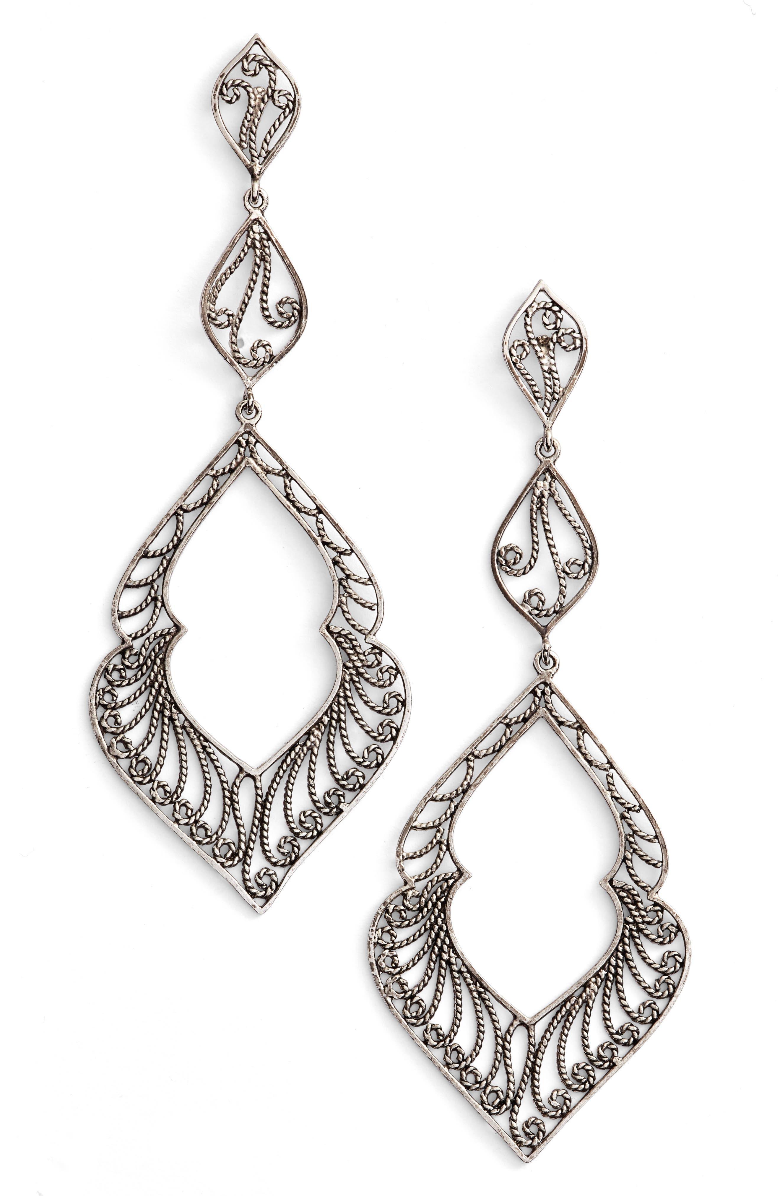 ARGENTO VIVO Marquee Drop Earrings