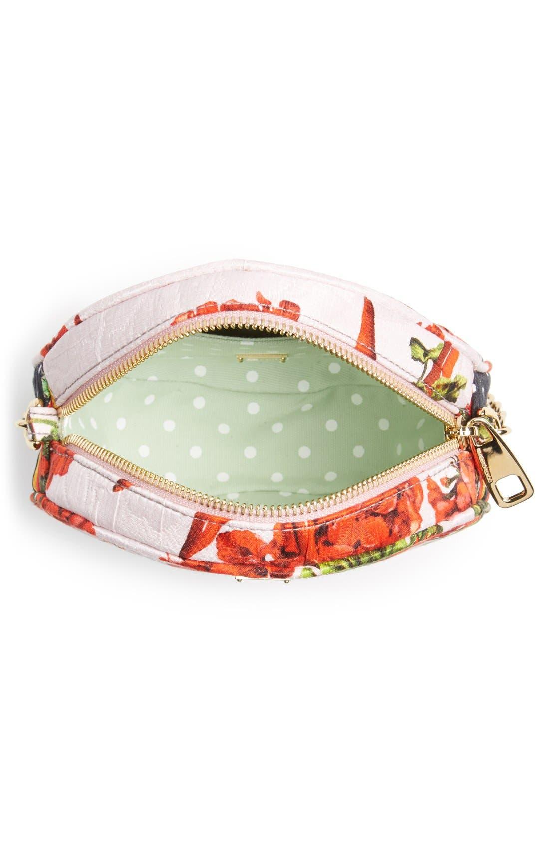 Alternate Image 3  - Dolce&Gabbana 'Miss Glam' Floral Print Crossbody Bag