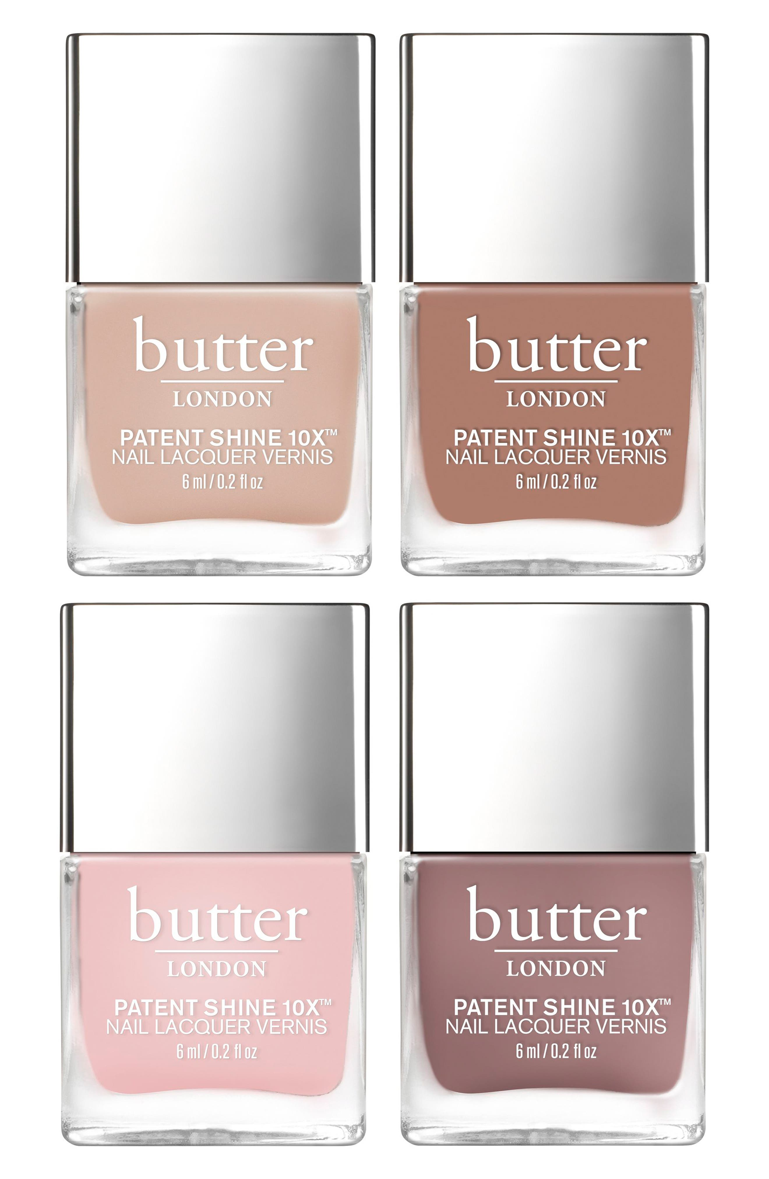 Alternate Image 2  - butter LONDON Polished Nudes Patent Shine 10x™ Nail Lacquer Set (Limited Edition) (Nordstrom Exclusive)