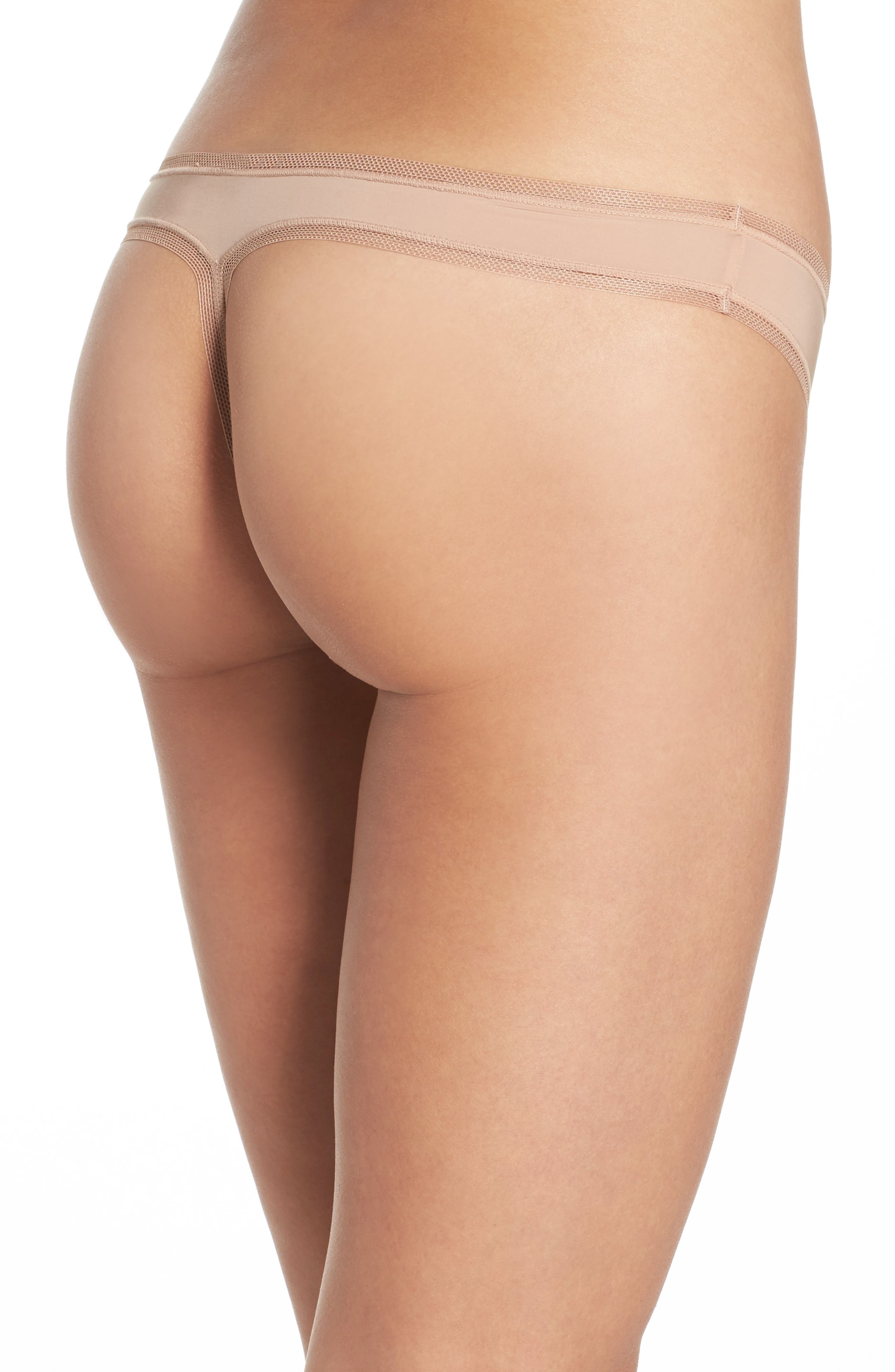 Alternate Image 2  - DKNY Low Rise Thong
