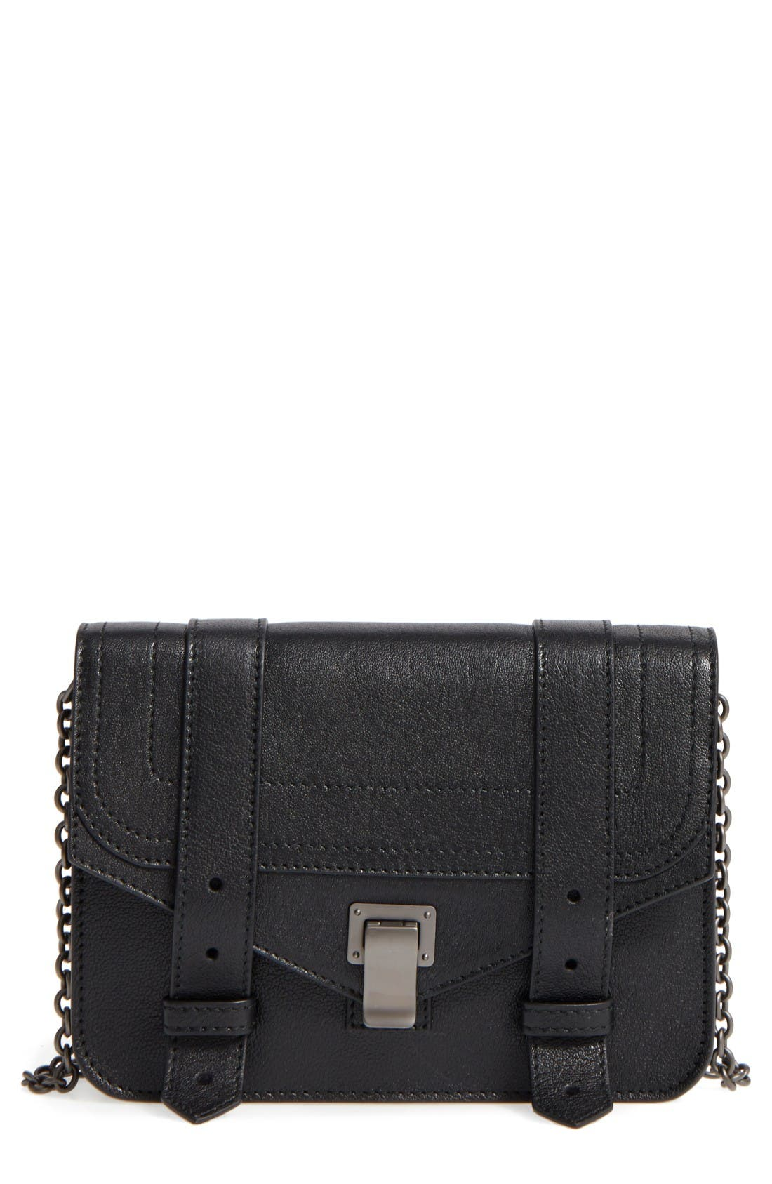 PS1 Chain Wallet,                         Main,                         color, Black