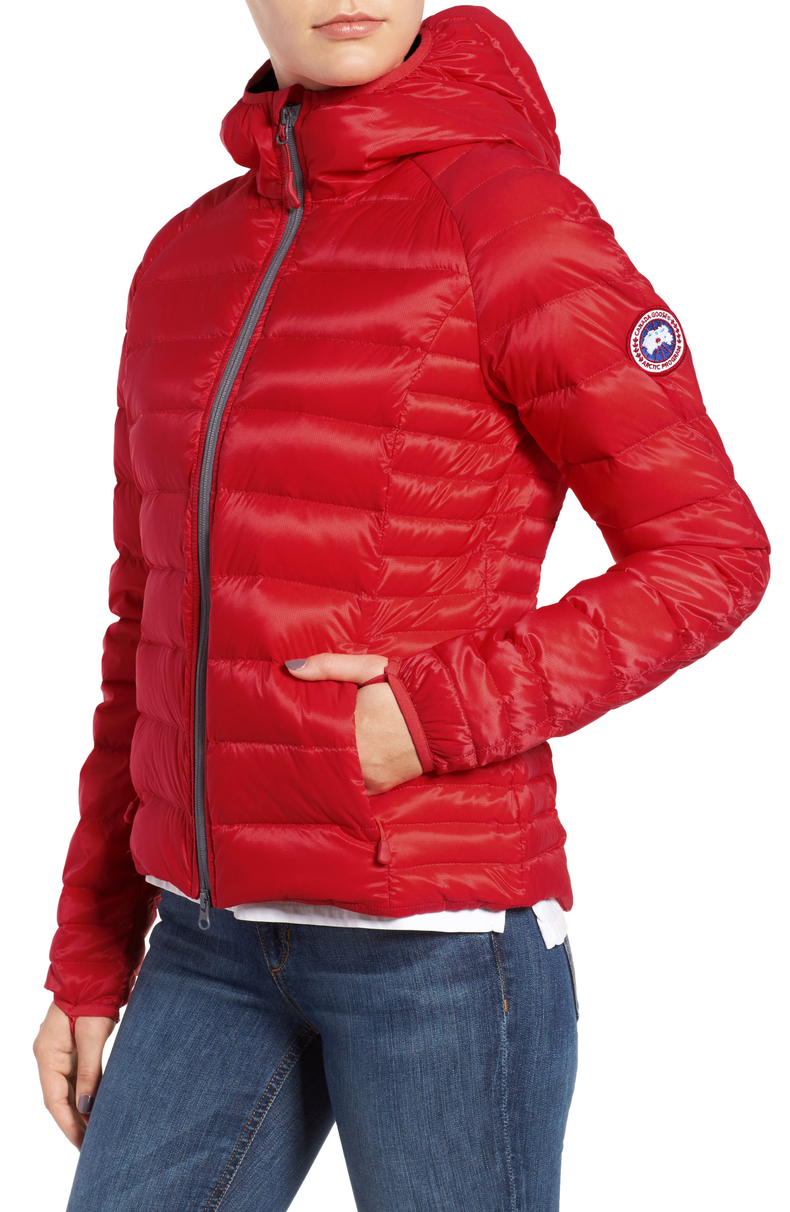 Alternate Image 4  - Canada Goose 'Brookvale' Packable Hooded Quilted Down Jacket