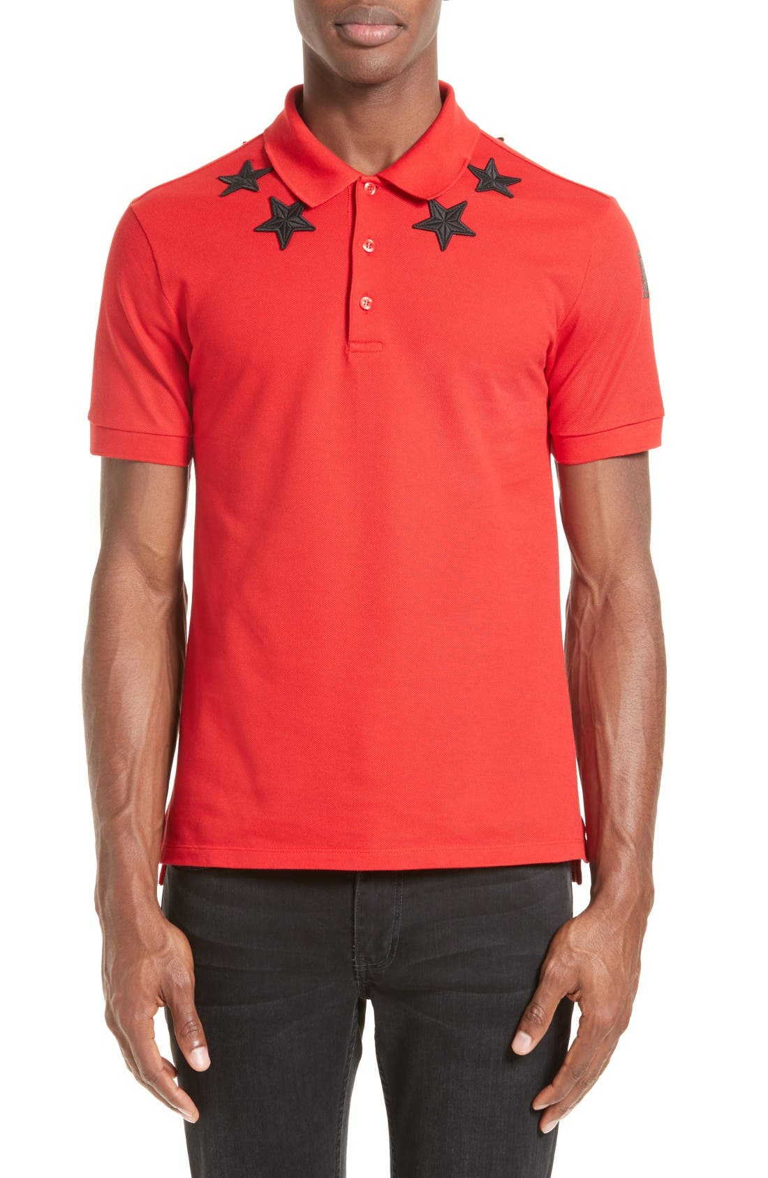 Givenchy Star 74 Cuban Fit Polo