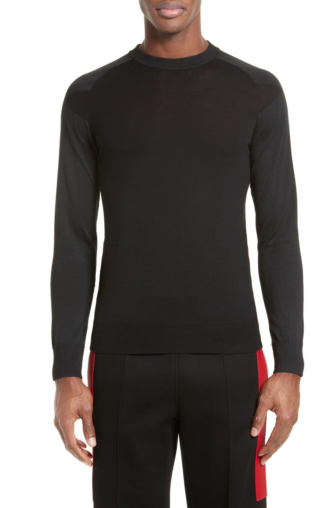 Alternate Image 1 Selected - Givenchy Star Shoulder Sweater