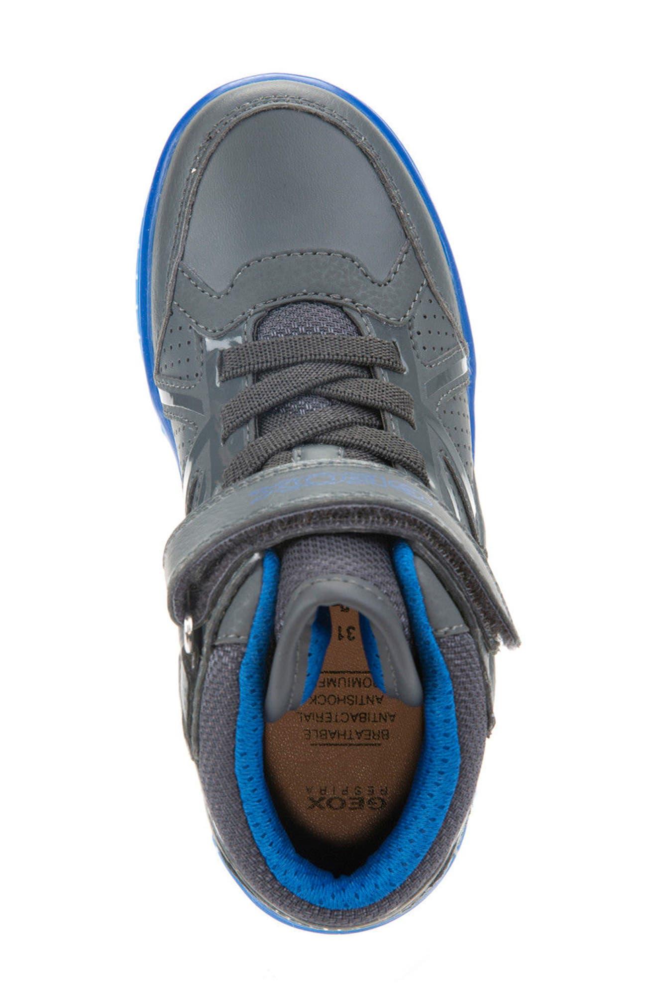 Argonat High Top Sneaker,                             Alternate thumbnail 3, color,                             Dark Grey/ Royal