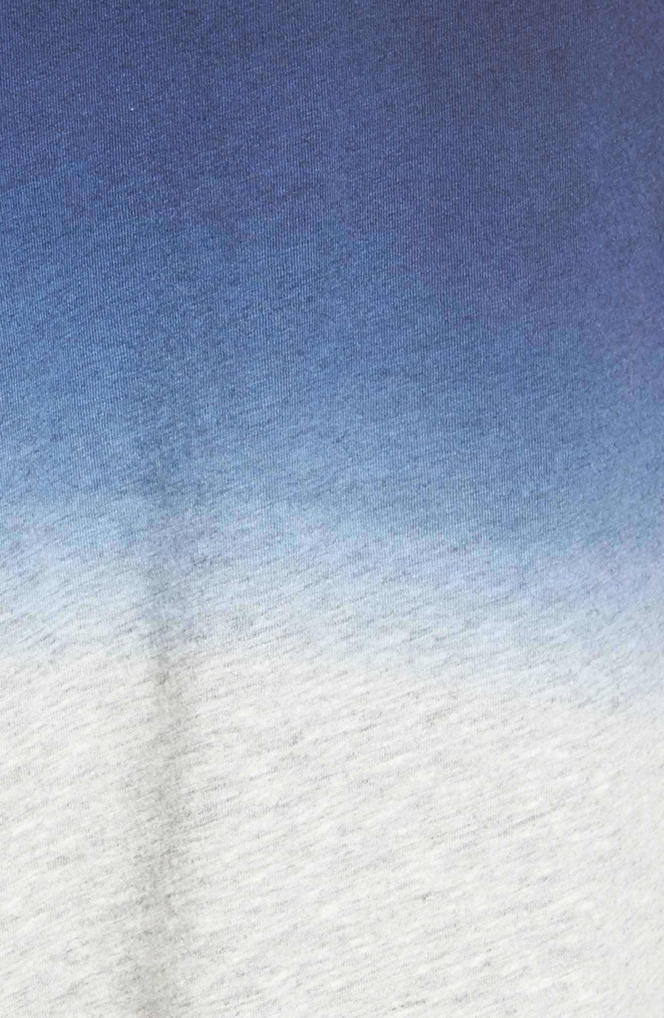 Dip Dye Lounge Shorts,                             Alternate thumbnail 5, color,                             Navy