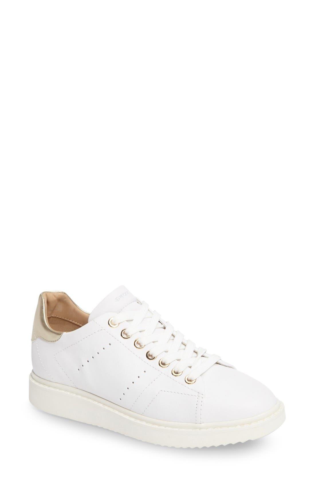 Alternate Image 1 Selected - Geox Thymar Sneaker (Women)