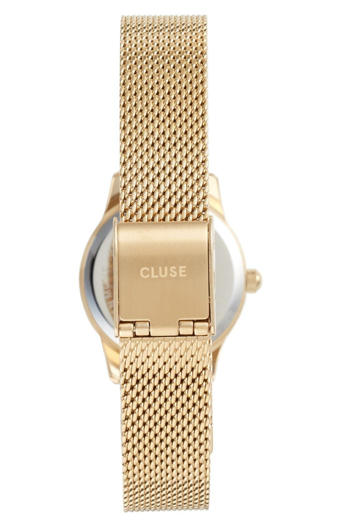 Alternate Image 2  - CLUSE La Vedette Mesh Strap Watch, 24mm