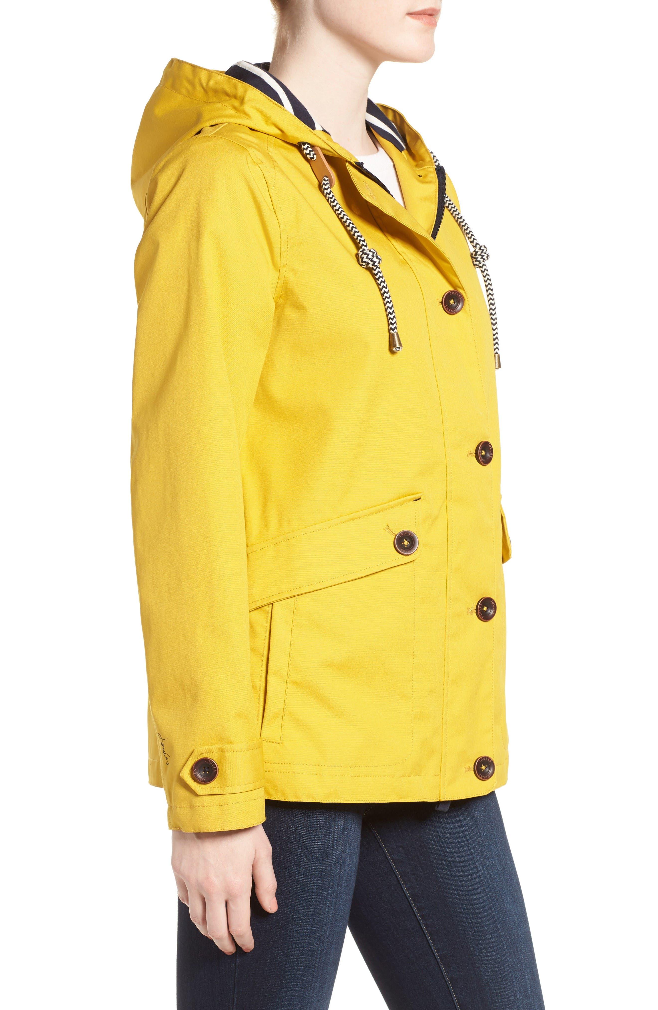 Alternate Image 4  - Joules Right as Rain Waterproof Hooded Jacket