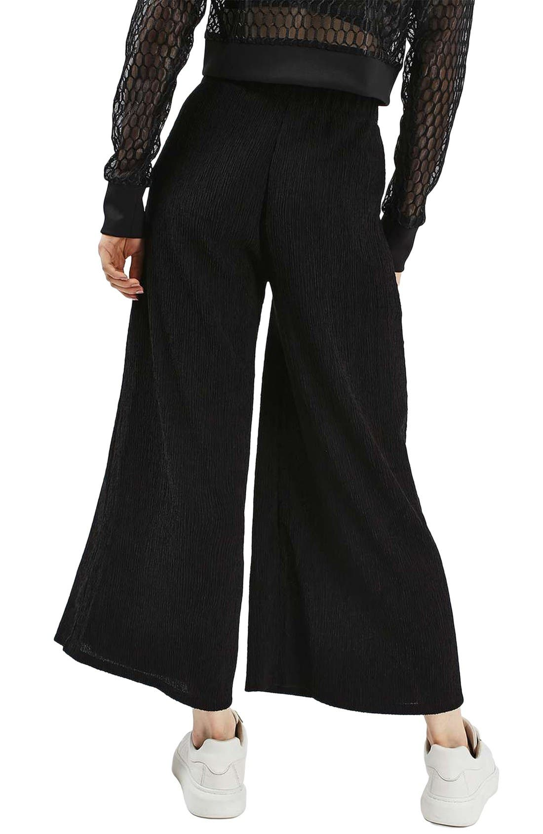 Alternate Image 3  - Topshop Wide Leg Trousers
