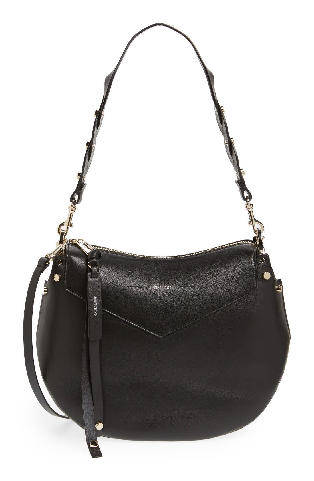 Jimmy Choo Artie Nappa Leather Hobo Bag