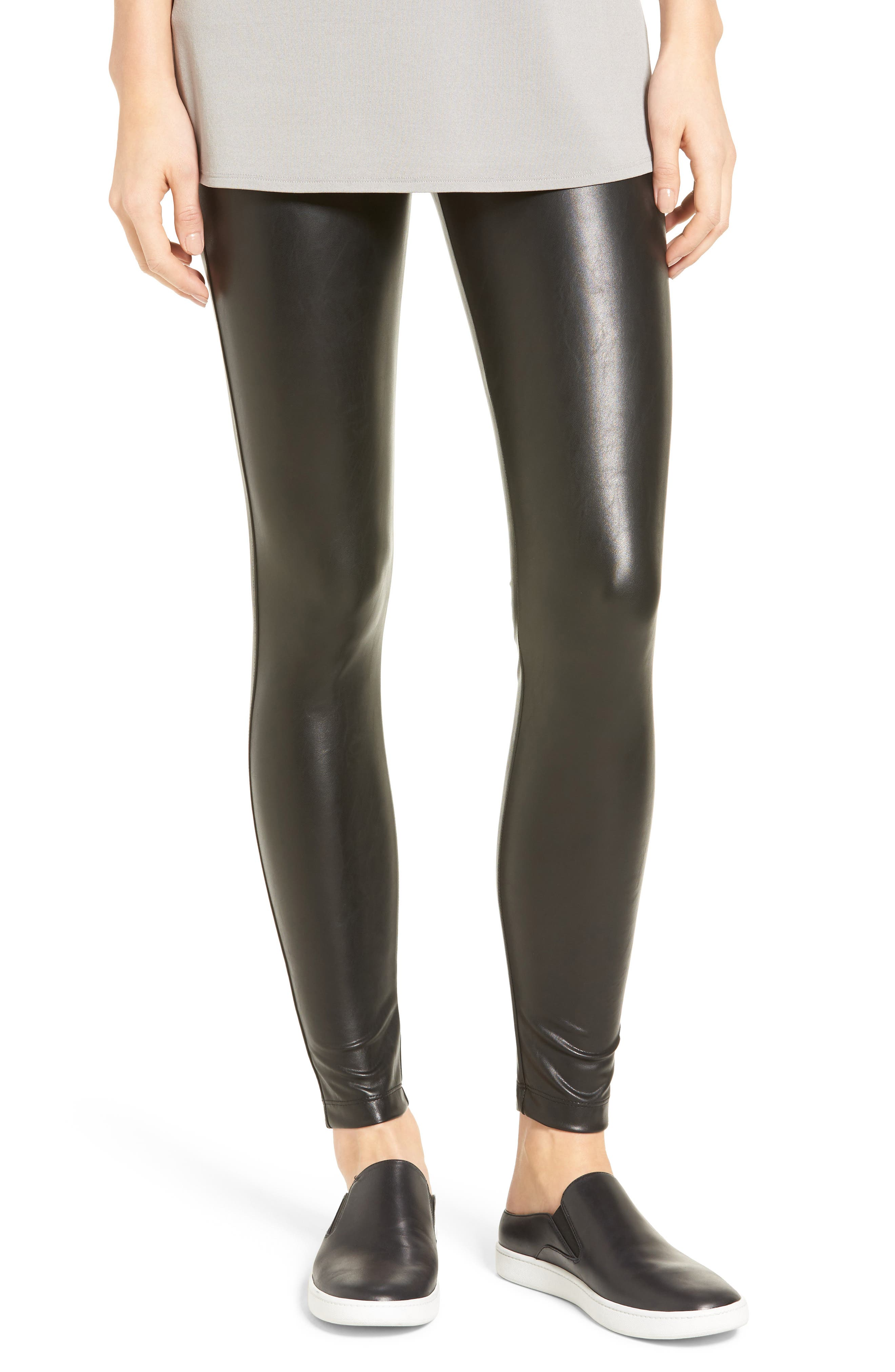 David Lerner Barlow Faux Leather Leggings