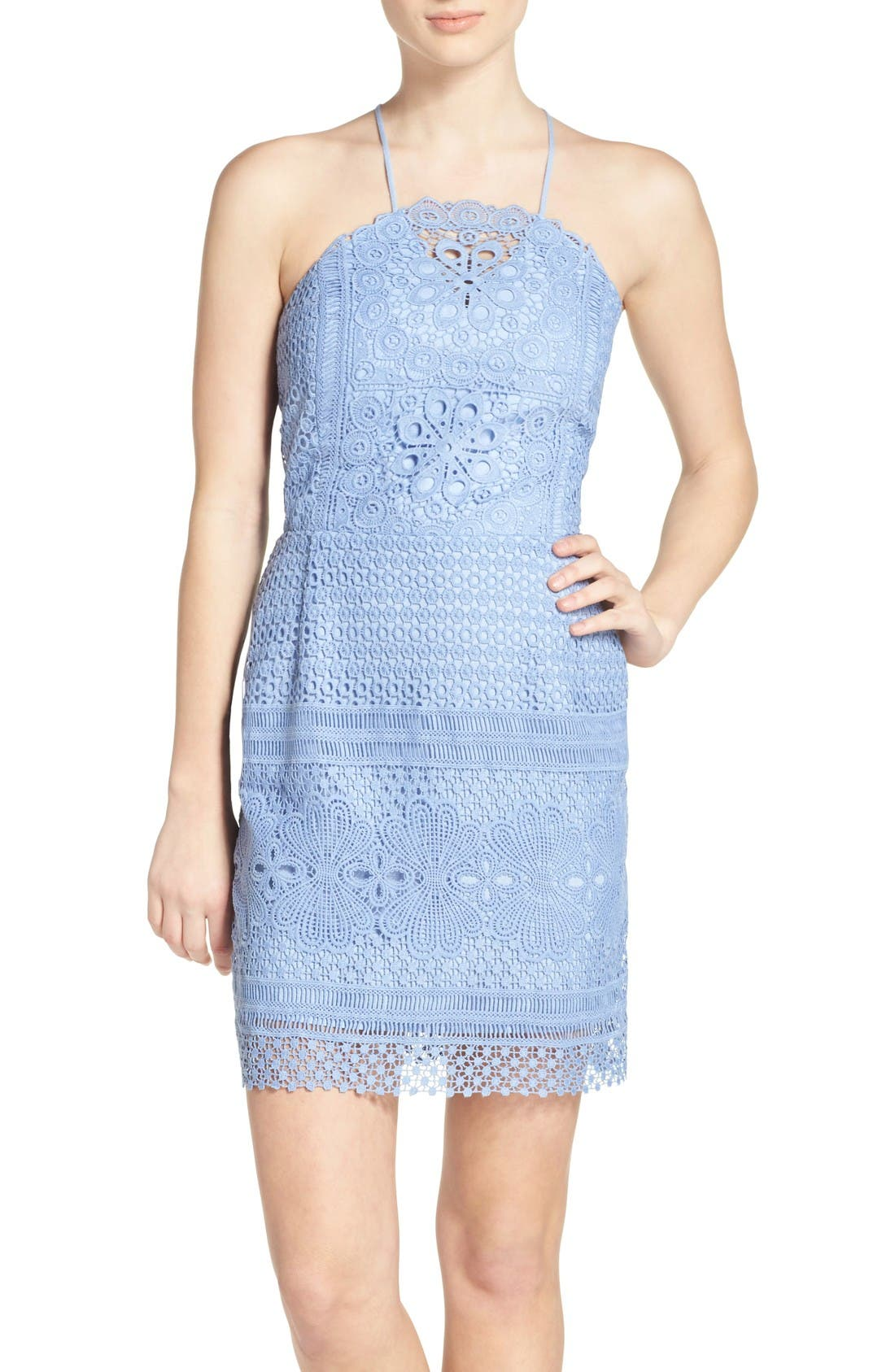 Main Image - Greylin Lace Sheath Dress