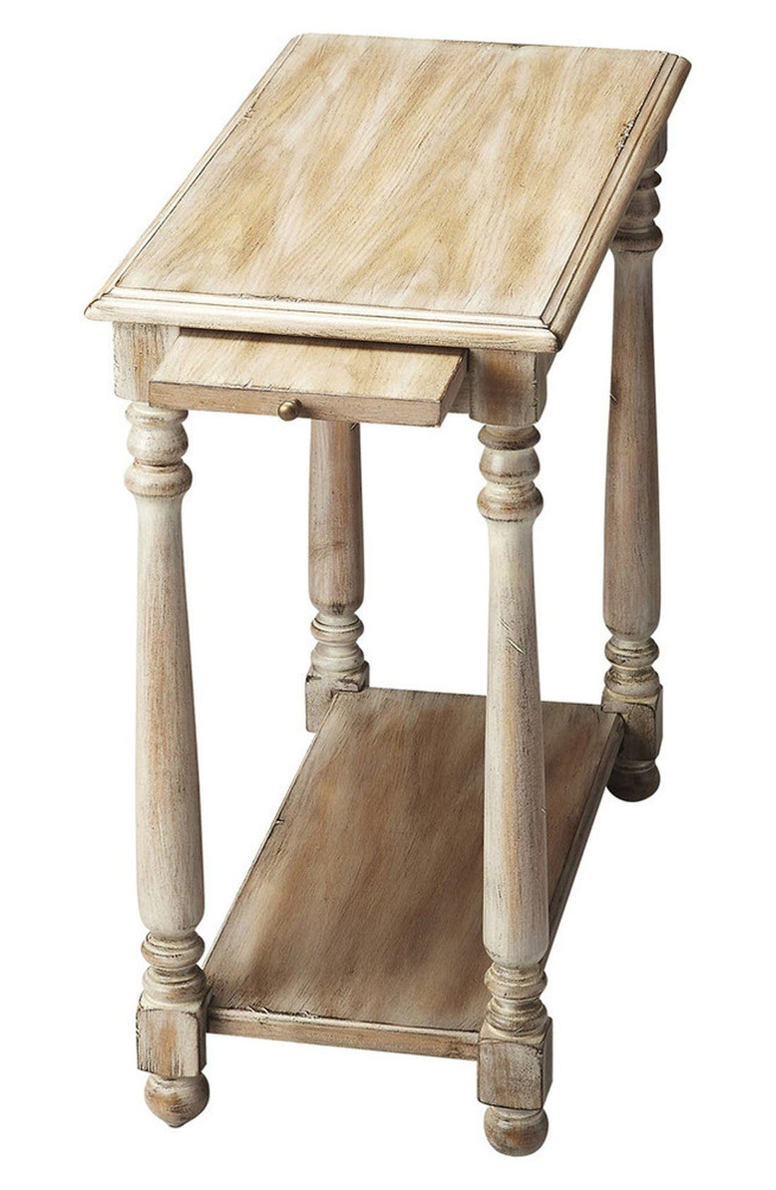 Wood Chairside Table,                         Main,                         color, Grey