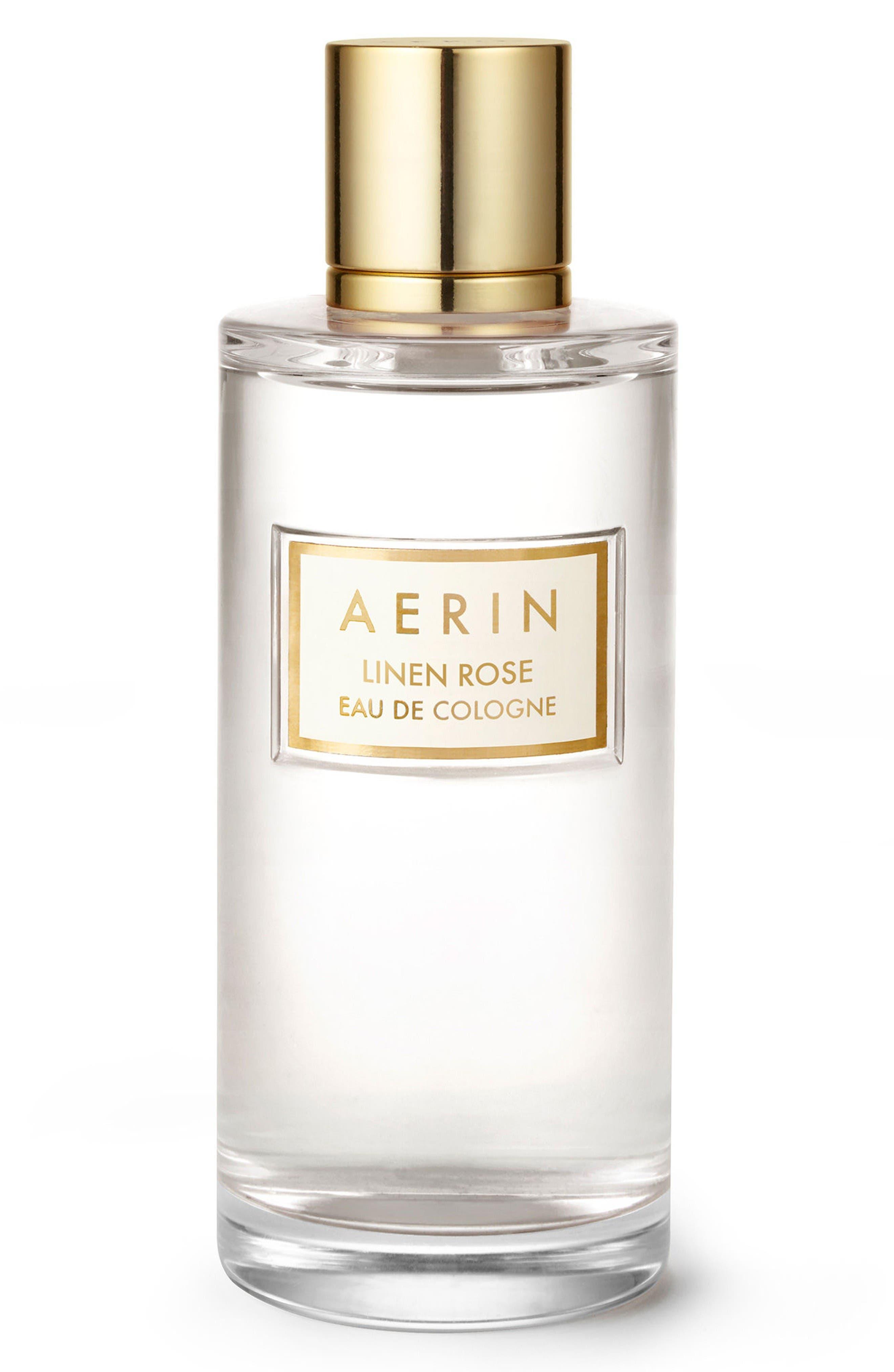 Alternate Image 1 Selected - AERIN Beauty Linen Rose Eau de Cologne