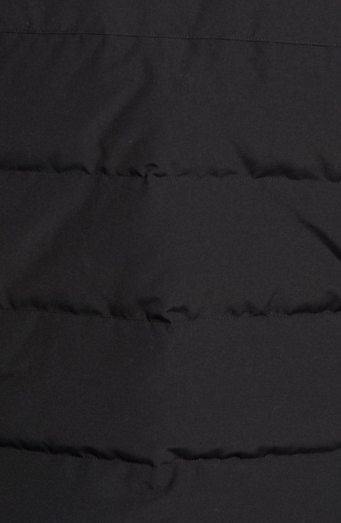 Sylvan Down Vest,                             Alternate thumbnail 5, color,                             Black
