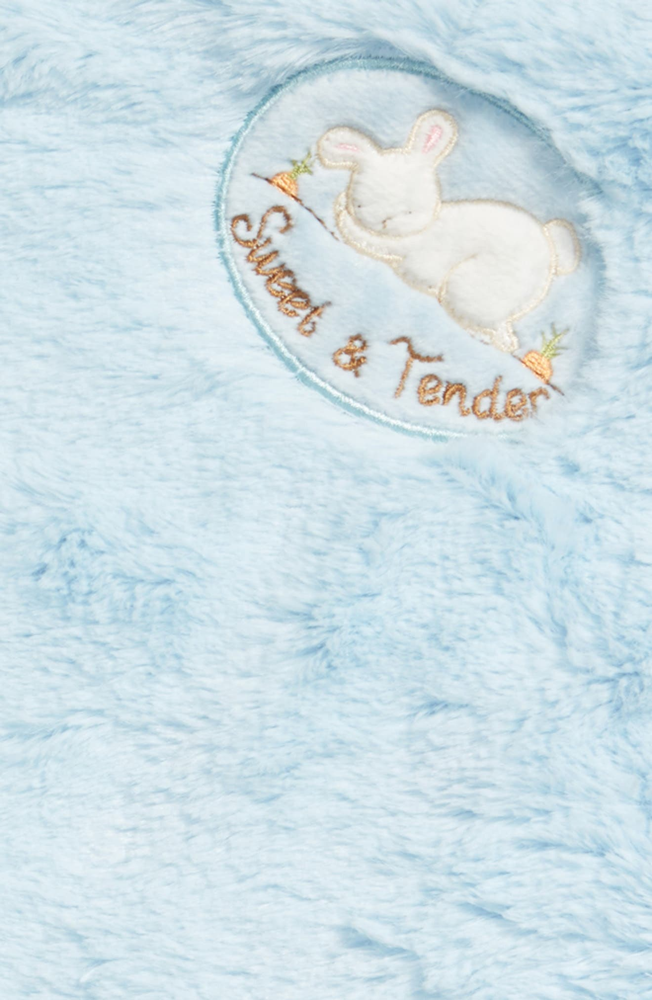 Blanket, Lovey & Teething Ring Set,                             Alternate thumbnail 2, color,                             Blue