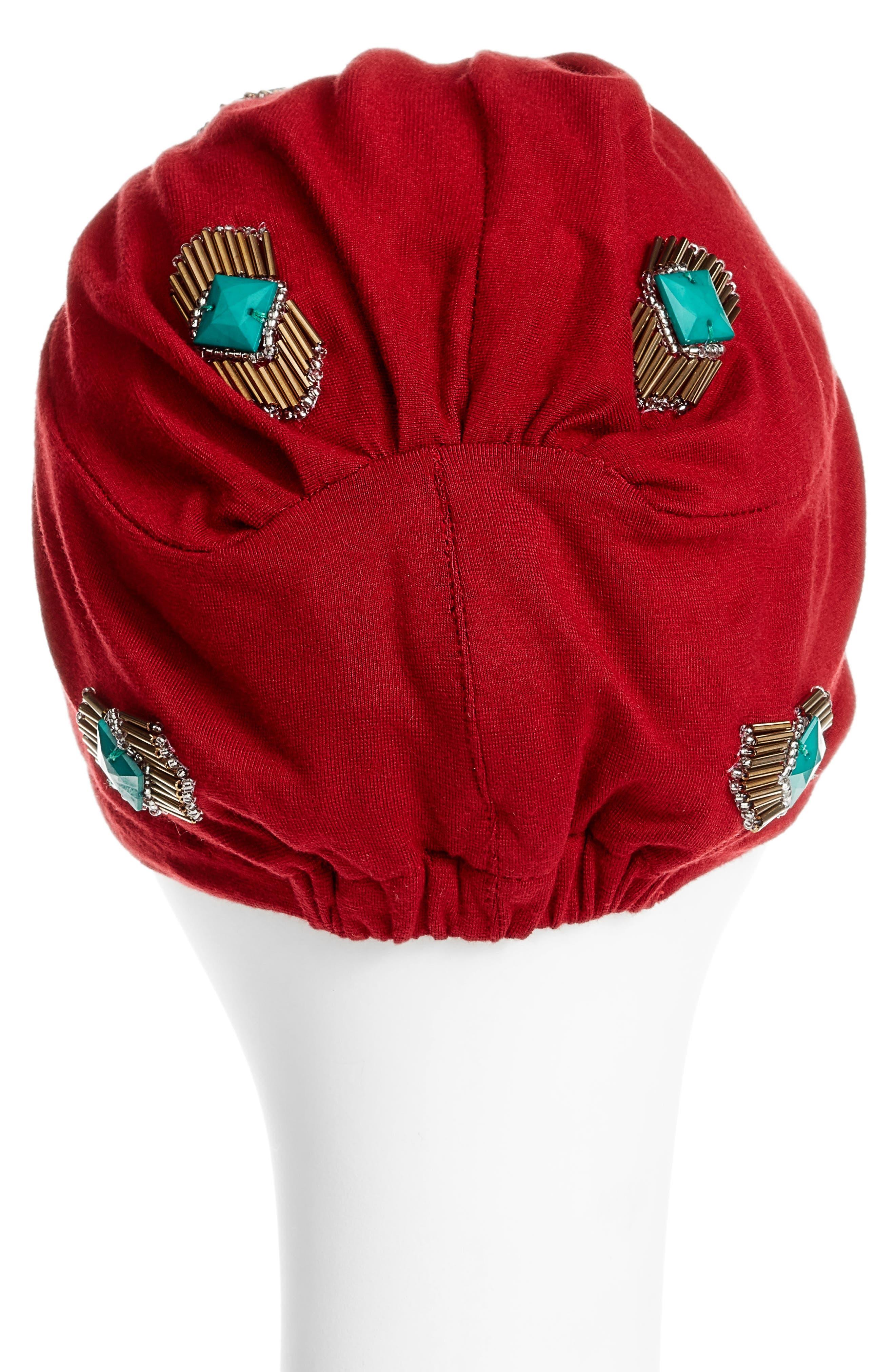 Alternate Image 2  - Berry Crystal Turban