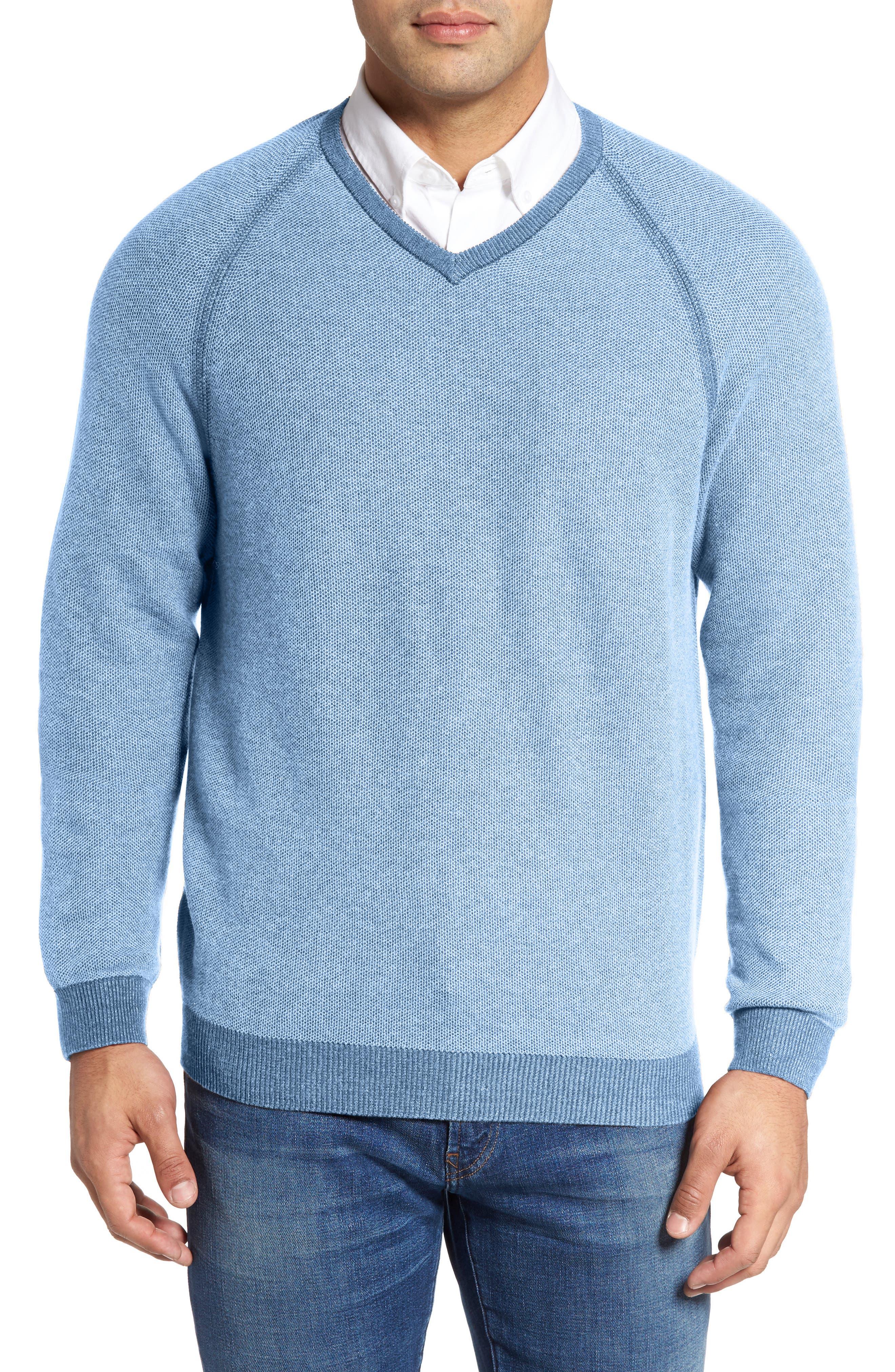 Make Mine a Double Sweater,                             Main thumbnail 1, color,                             Polar Sky