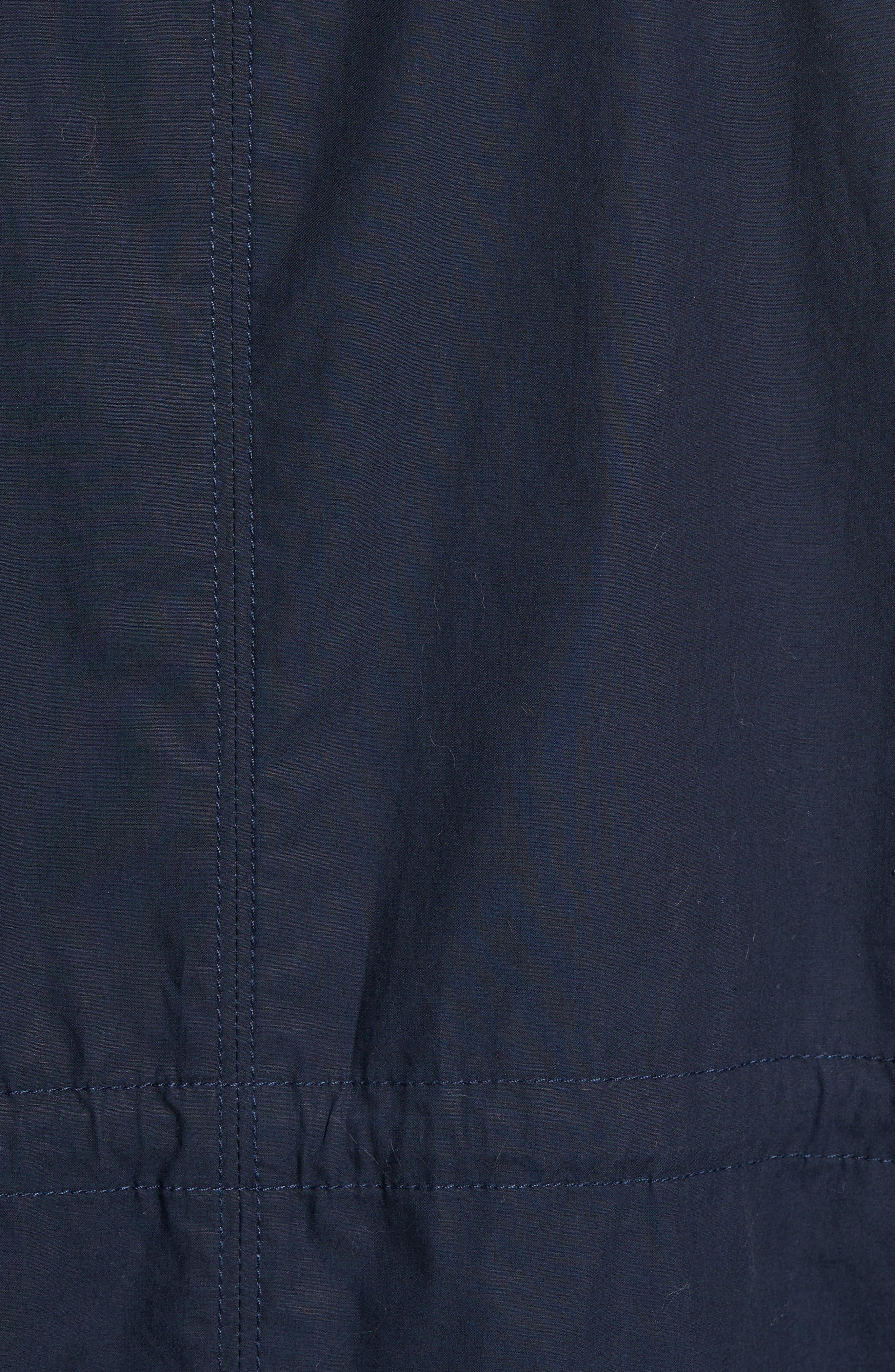 Breakaway Trench Coat,                             Alternate thumbnail 5, color,                             Navy