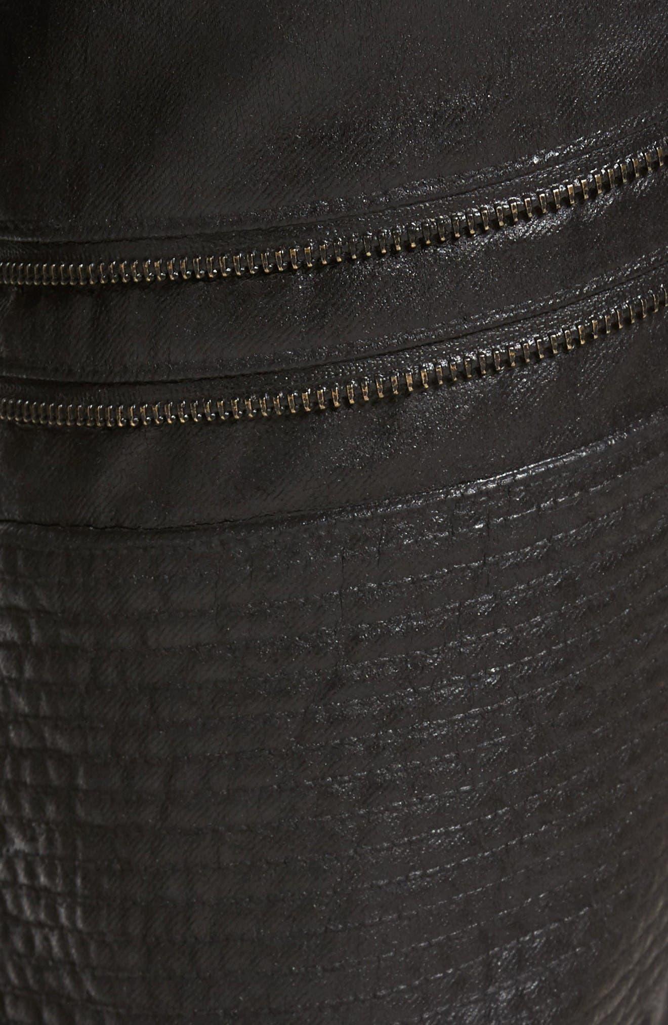 Alternate Image 5  - PRPS Demon Slim Straight Coated Jeans