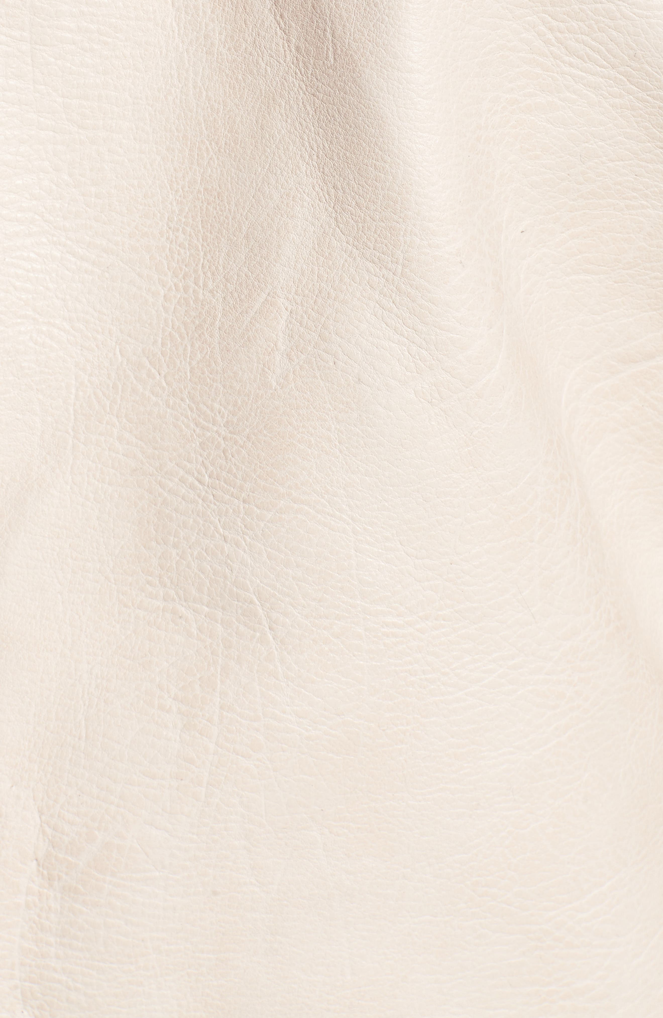 Alternate Image 5  - BLANKNYC Faux Leather Moto Jacket