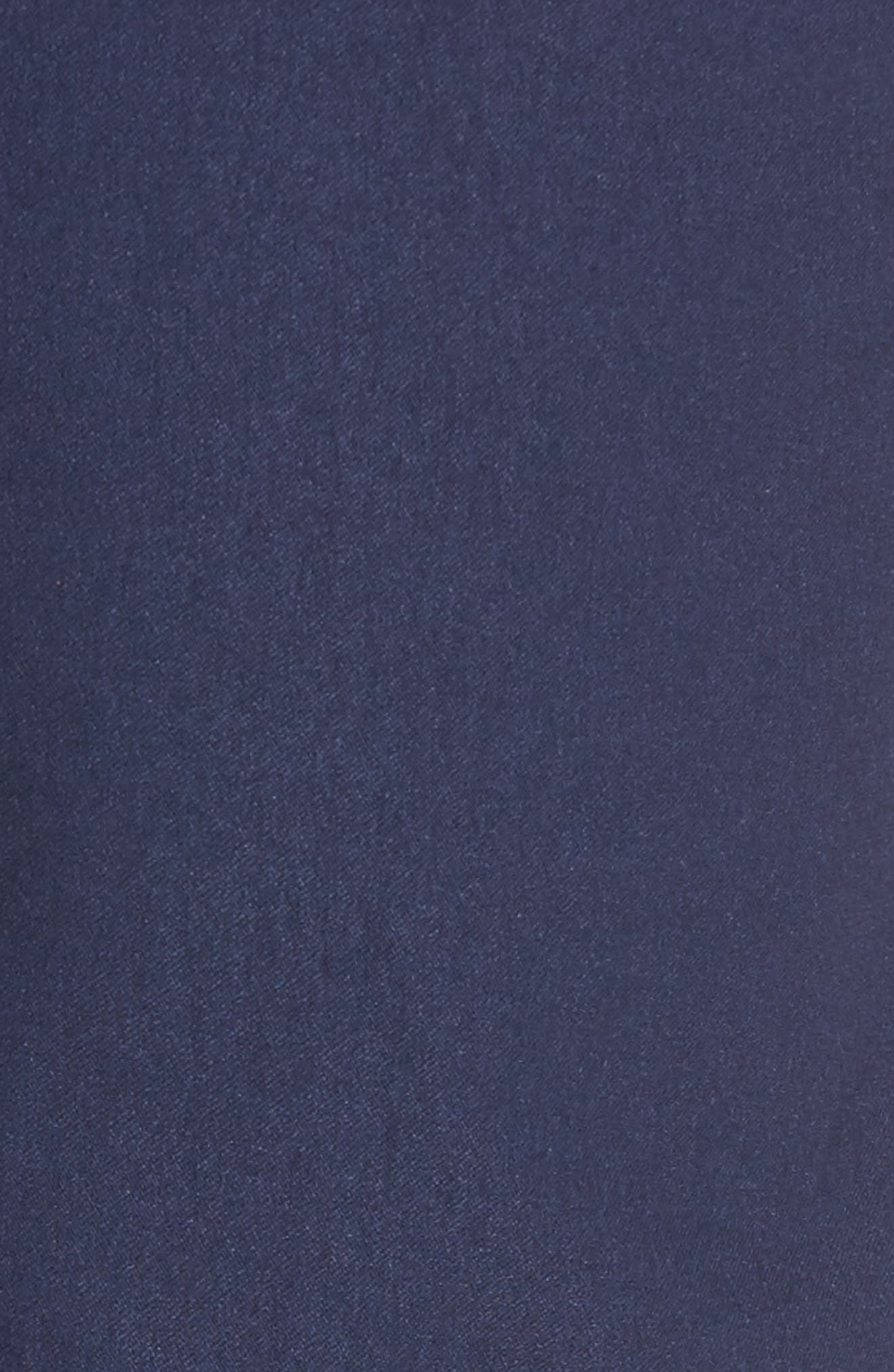 President Trim Fit Performance Chinos,                             Alternate thumbnail 5, color,                             Navy