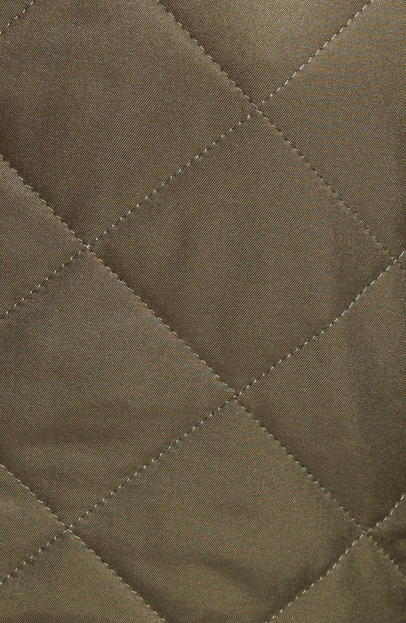 Alternate Image 3  - Burberry Boscastle Quilted Military Jacket