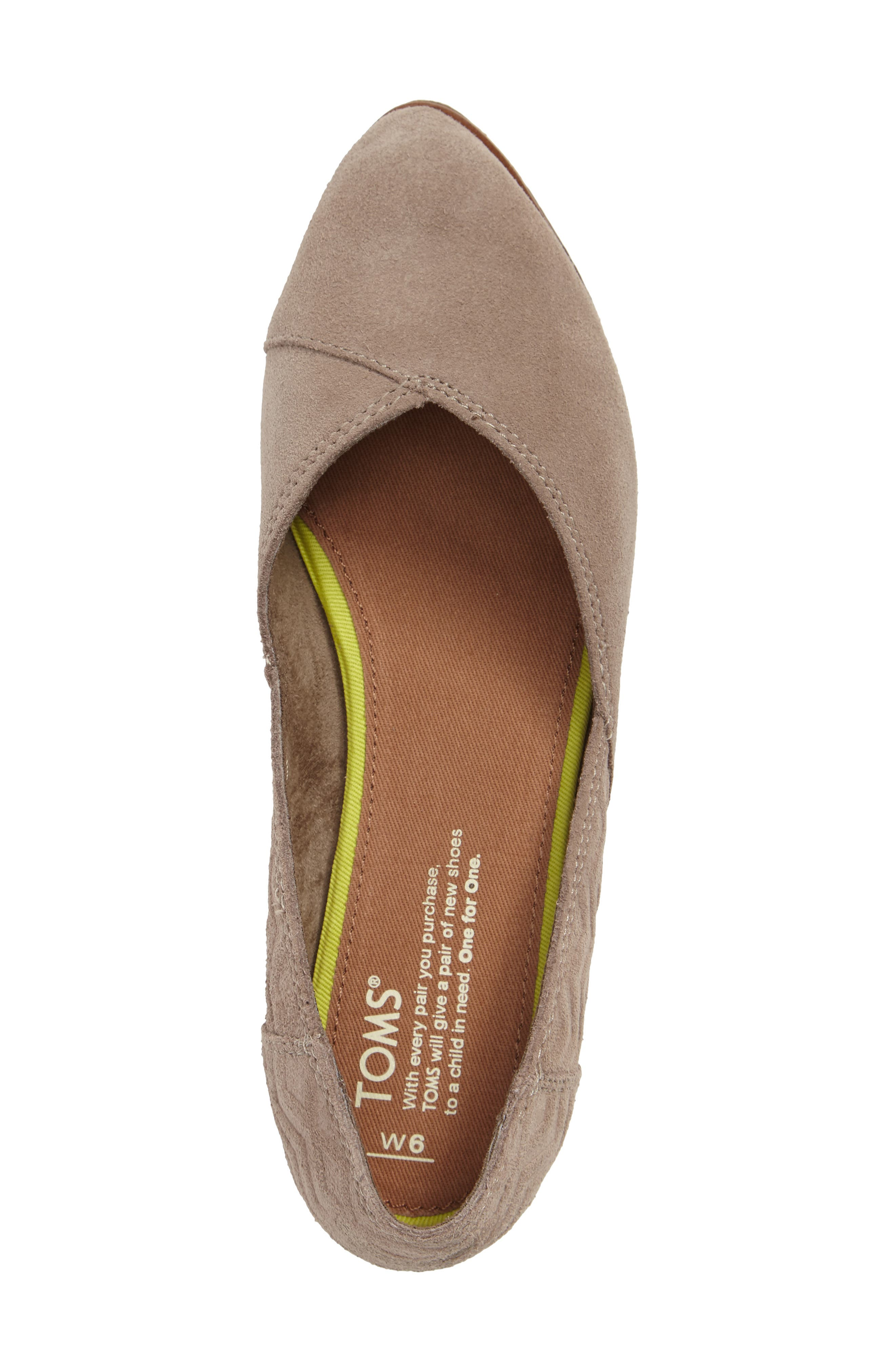 Alternate Image 3  - TOMS Jutti Flat (Women)