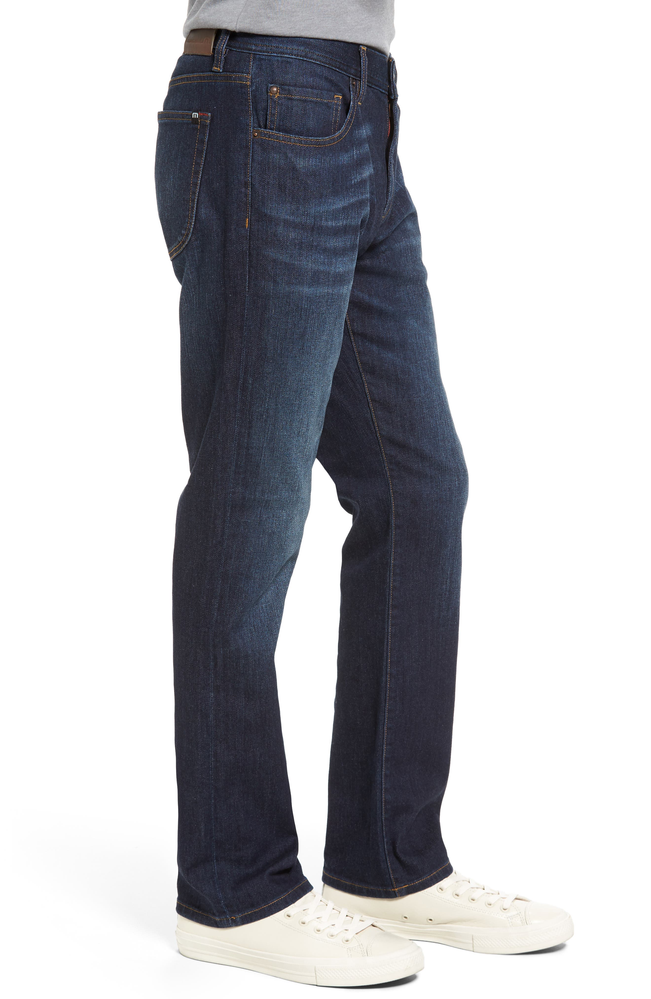 Alternate Image 3  - Travis Mathew 'Duke' Relaxed Fit Jeans (Vintage Indigo)
