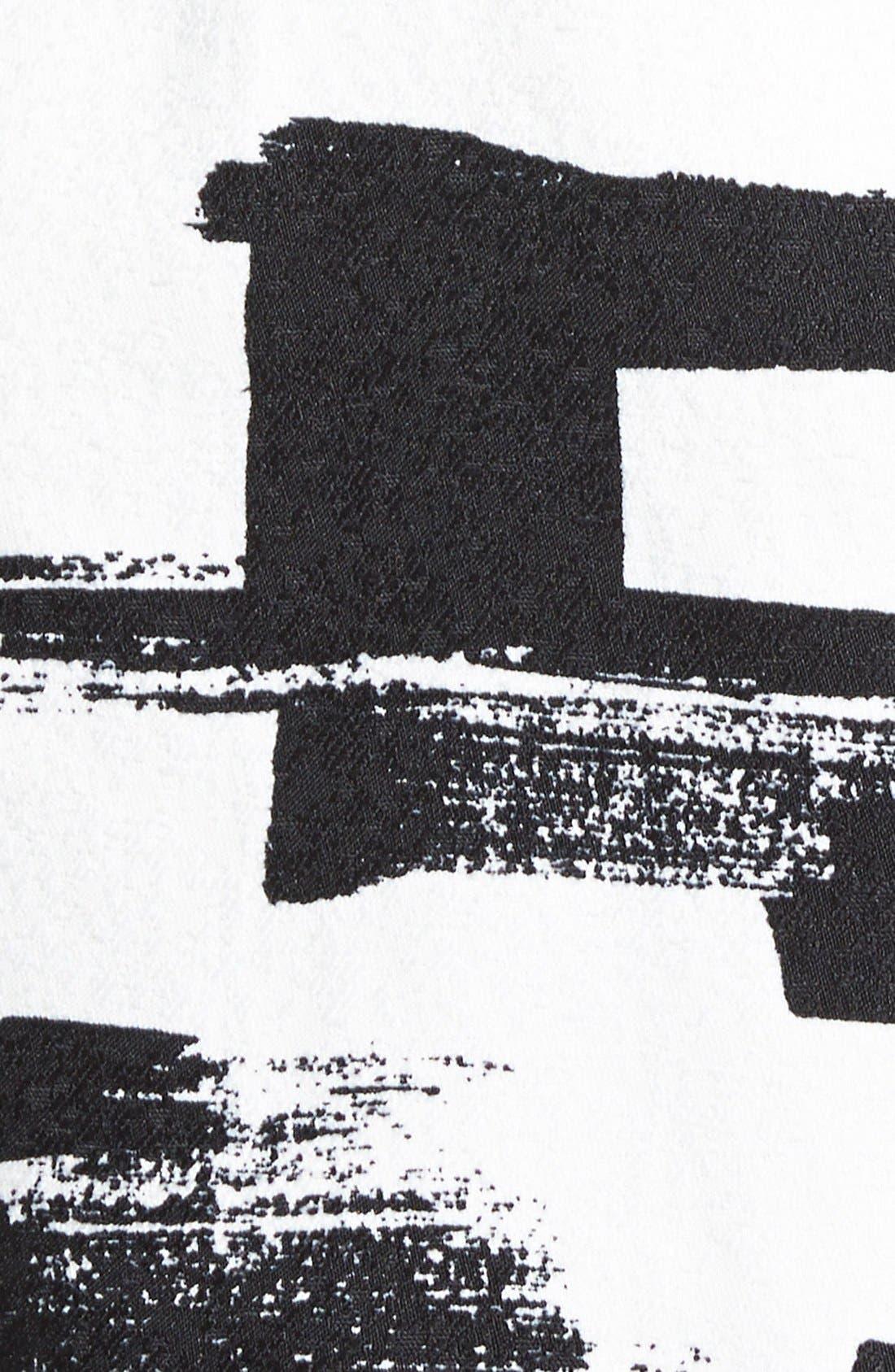 Alternate Image 3  - re:named Paneled Short Sleeve Dress