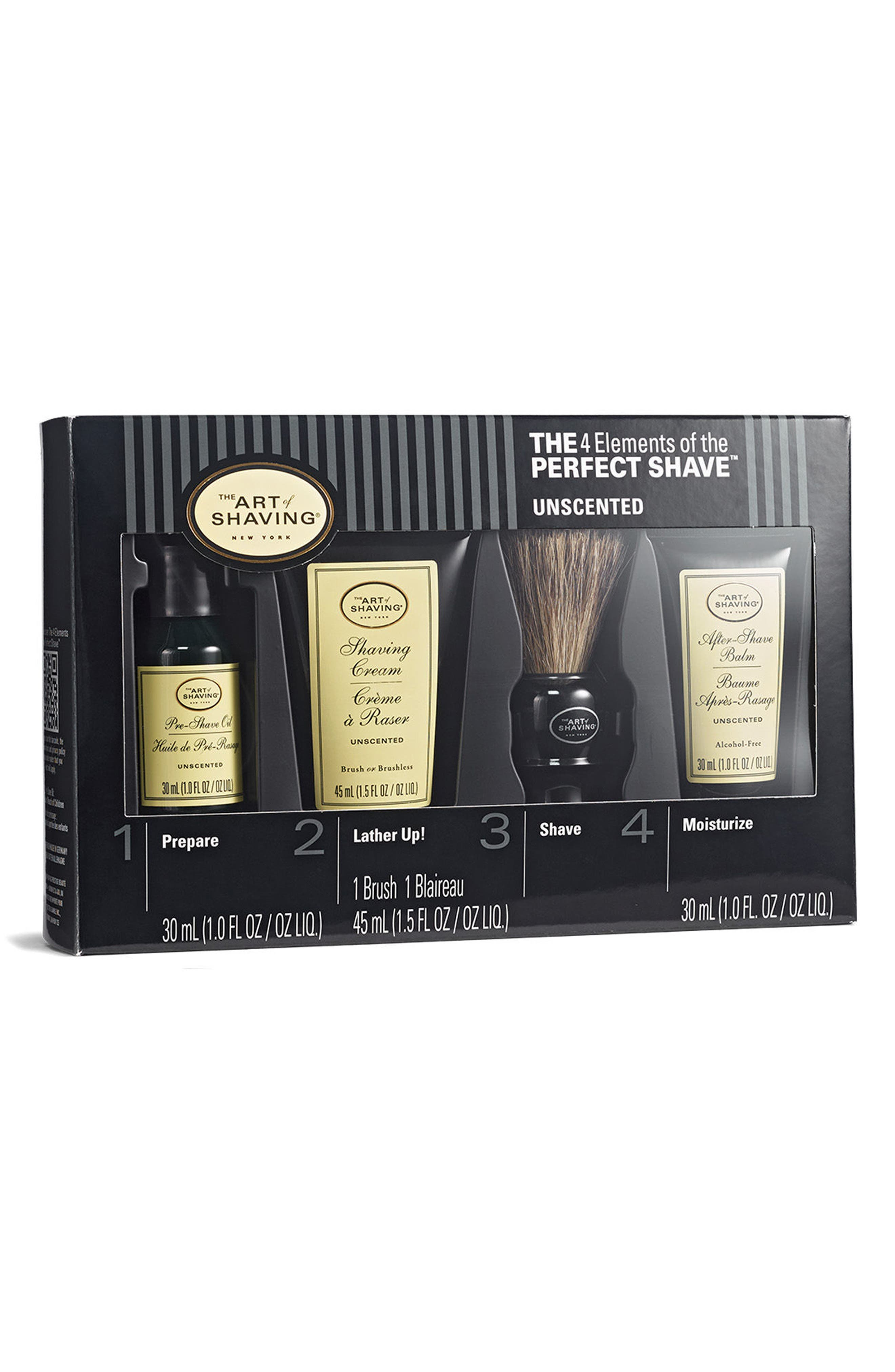 Alternate Image 1 Selected - The Art of Shaving® Unscented Mid Size Kit ($81 Value)