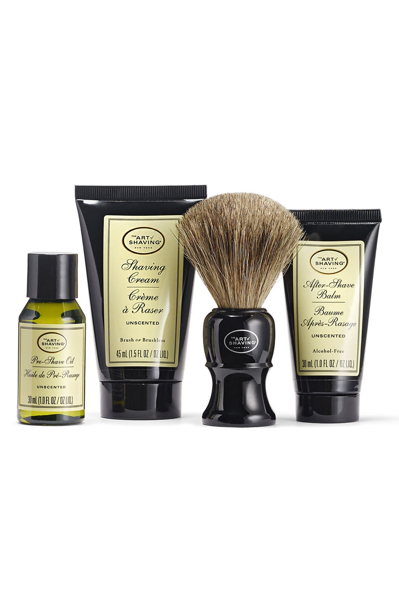 Alternate Image 2  - The Art of Shaving® Unscented Mid Size Kit ($81 Value)