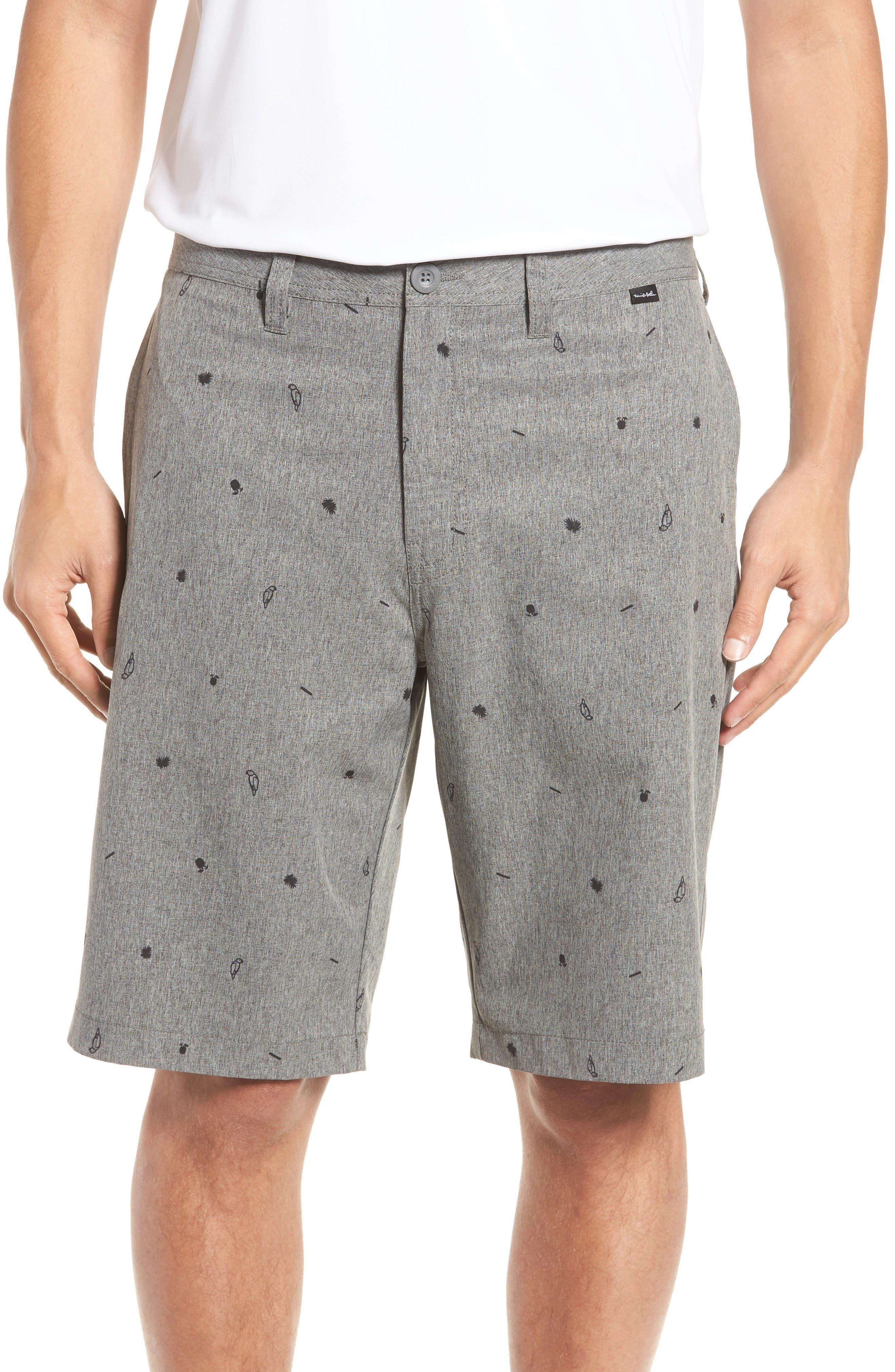 Panek Print Shorts,                         Main,                         color, Heather Quiet Shade