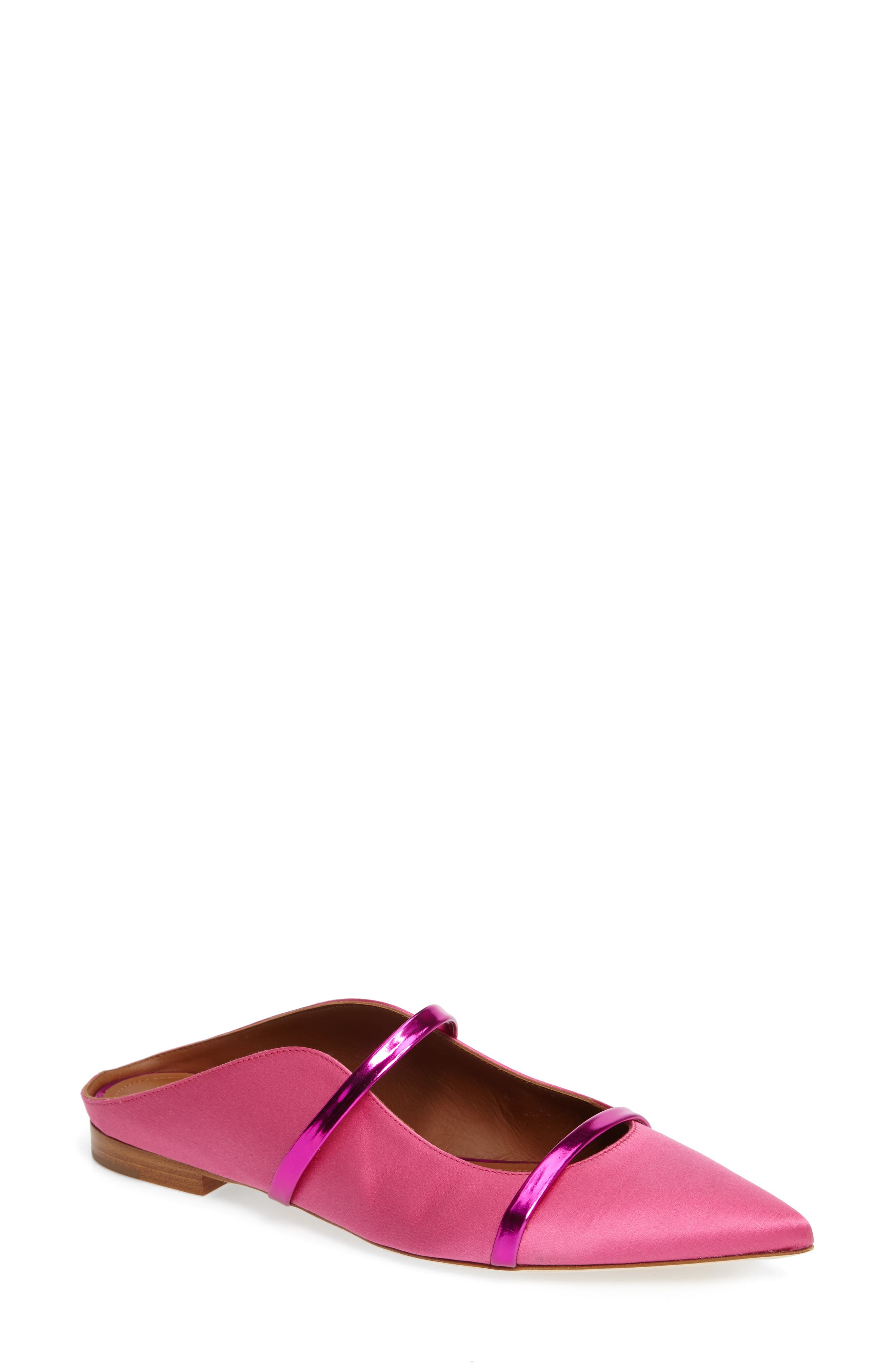 Alternate Image 1 Selected - Malone Souliers Maureen Pointy Toe Flat (Women)