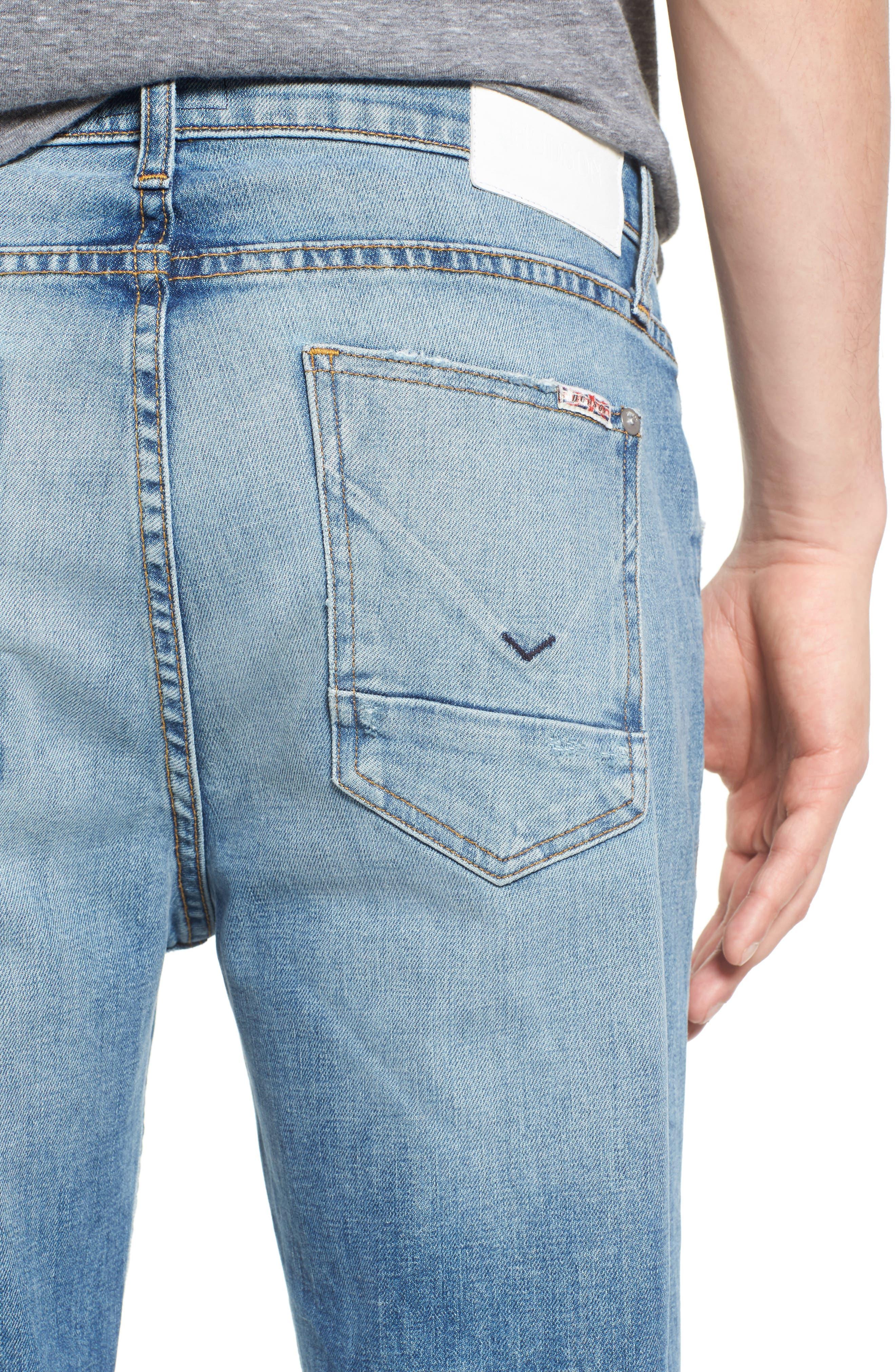 Alternate Image 4  - Hudson Jeans Sator Skinny Fit Jeans (Banned)
